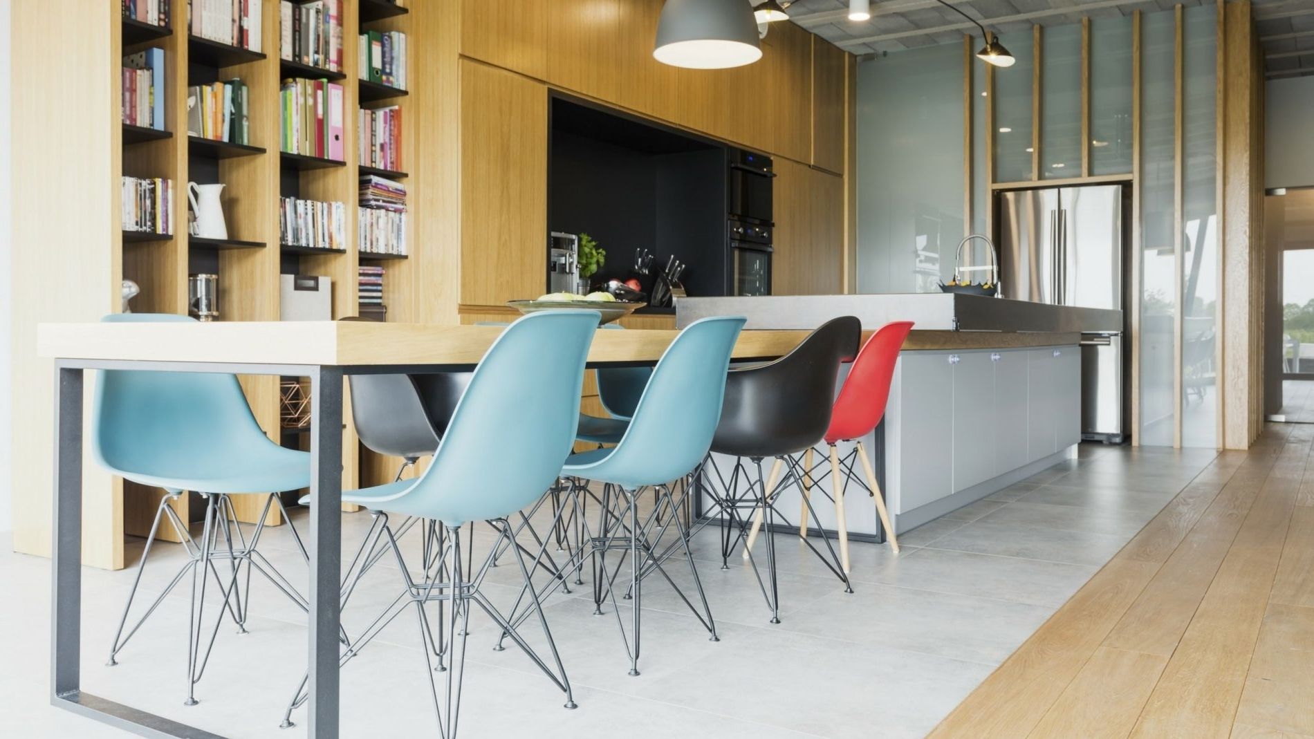 Multi Coloured Dining Table And Chairs Pertaining To Widely Used Colourful Dining Tables And Chairs (View 14 of 25)