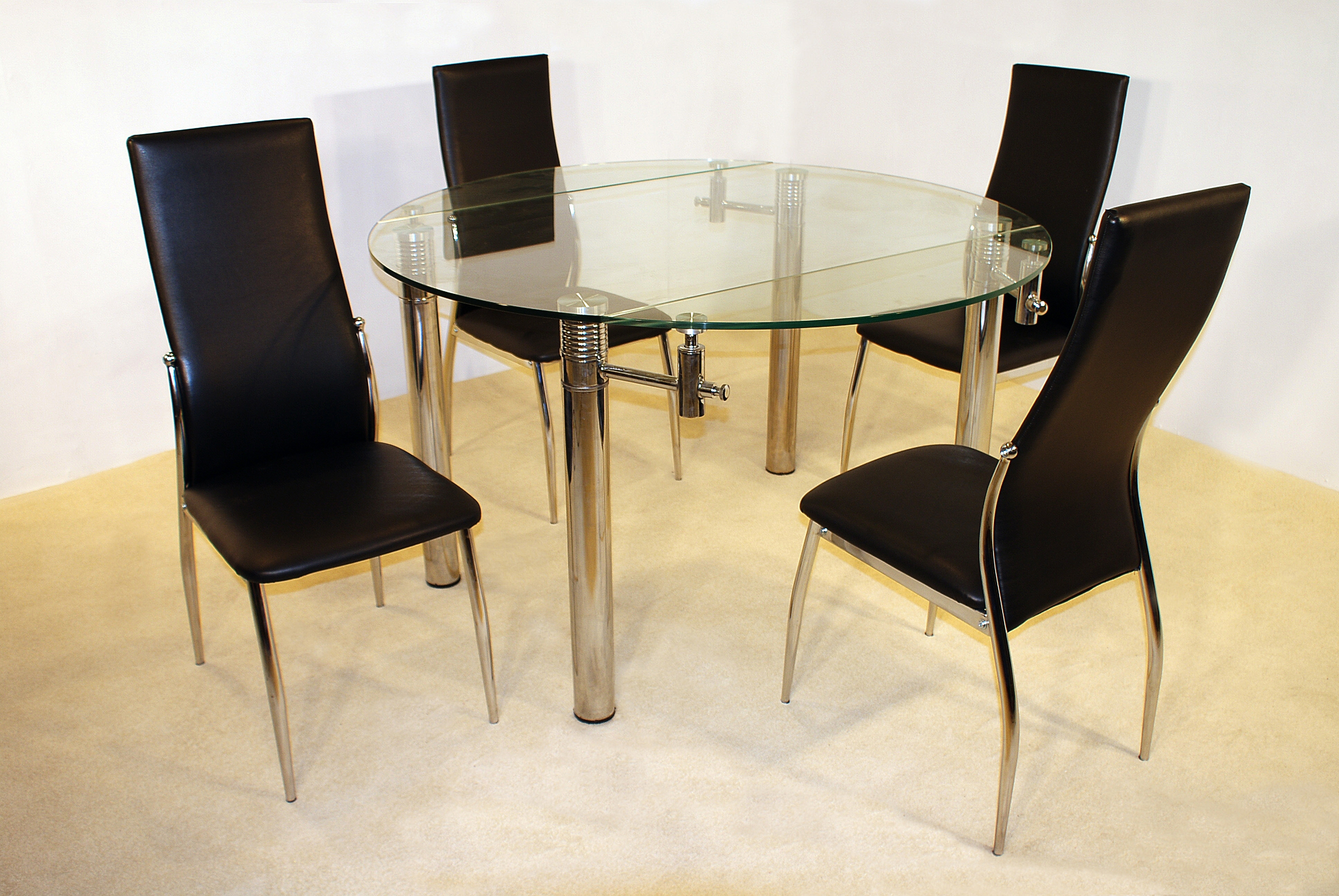 Munich Extending 5 Piece Dining Set With Lazio Dining Chairs – Home Pertaining To Well Known Lazio Dining Tables (View 19 of 25)