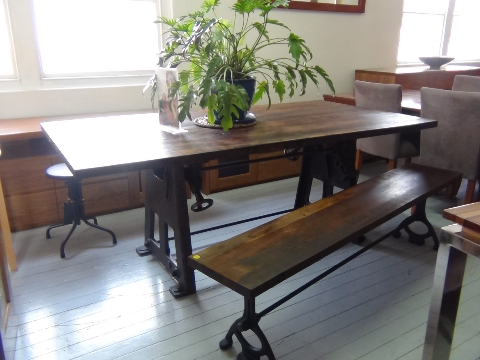 Narrow Dining Table With Bench Thin Room Tables Skinny Rectangular With Famous Thin Long Dining Tables (Gallery 20 of 25)