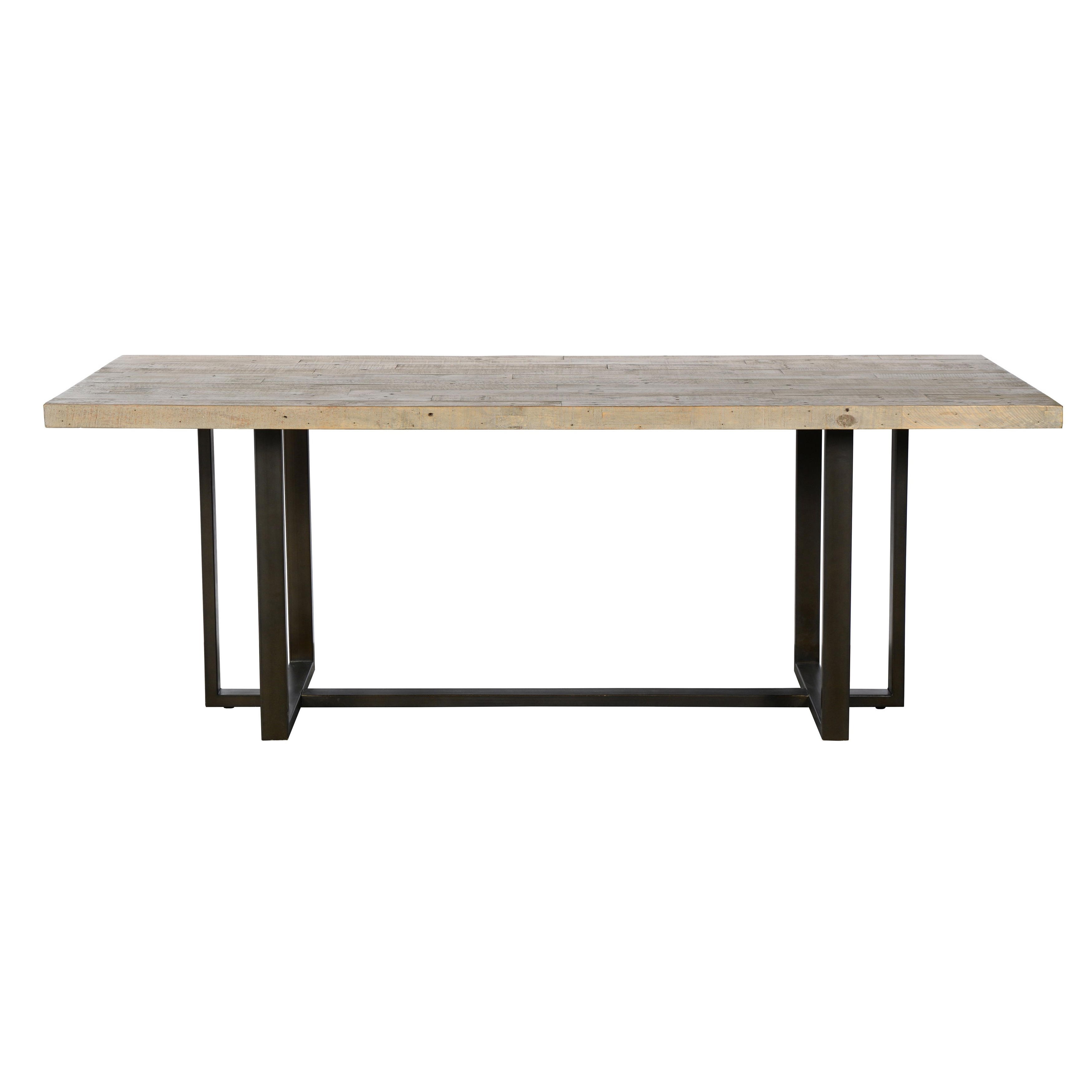 Natural Wood & Recycled Elm 87 Inch Dining Tables With Regard To Well Liked Shop Norton Reclaimed Pine 83 Inch Dining Tablekosas Home (View 16 of 25)