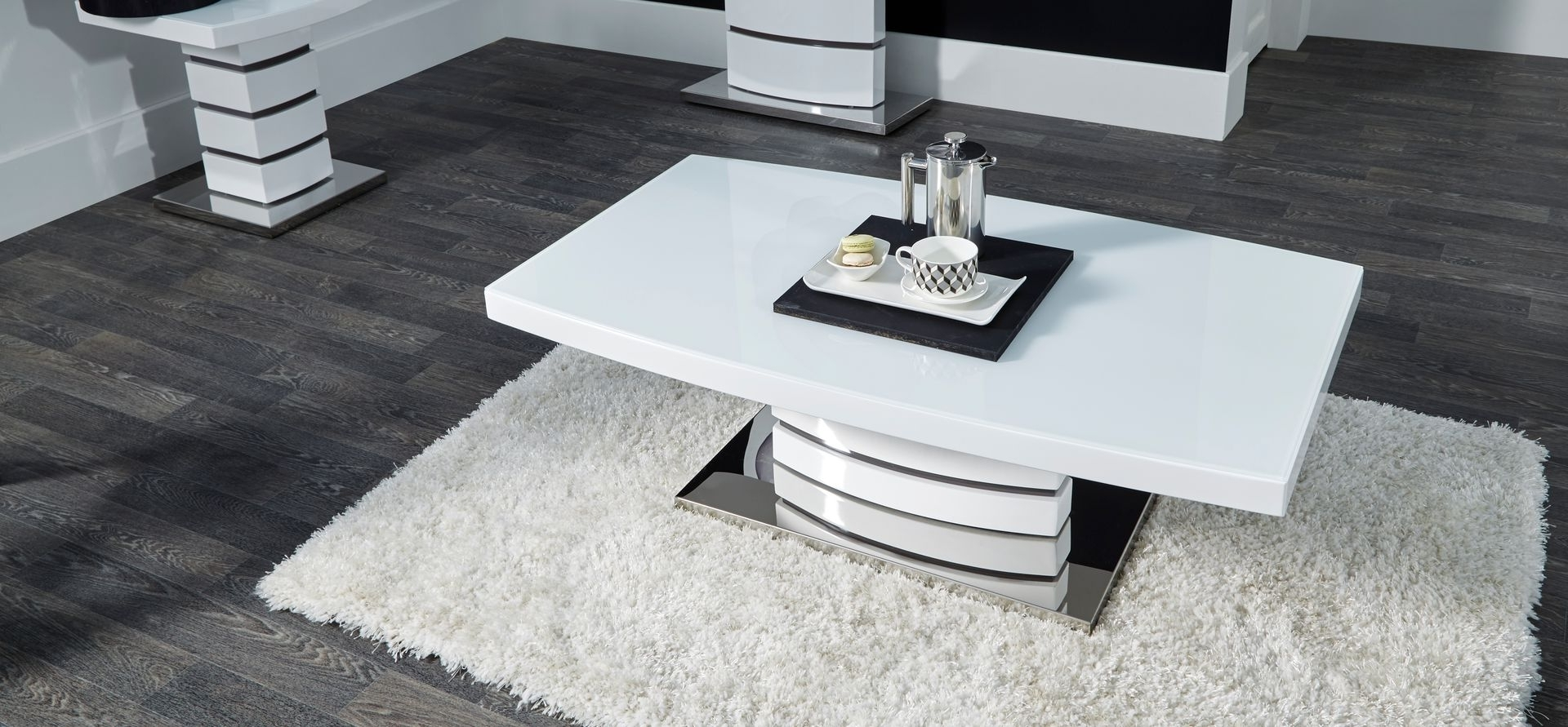 New Soho White Coffee Table - Scs intended for Most Recently Released Scs Dining Room Furniture