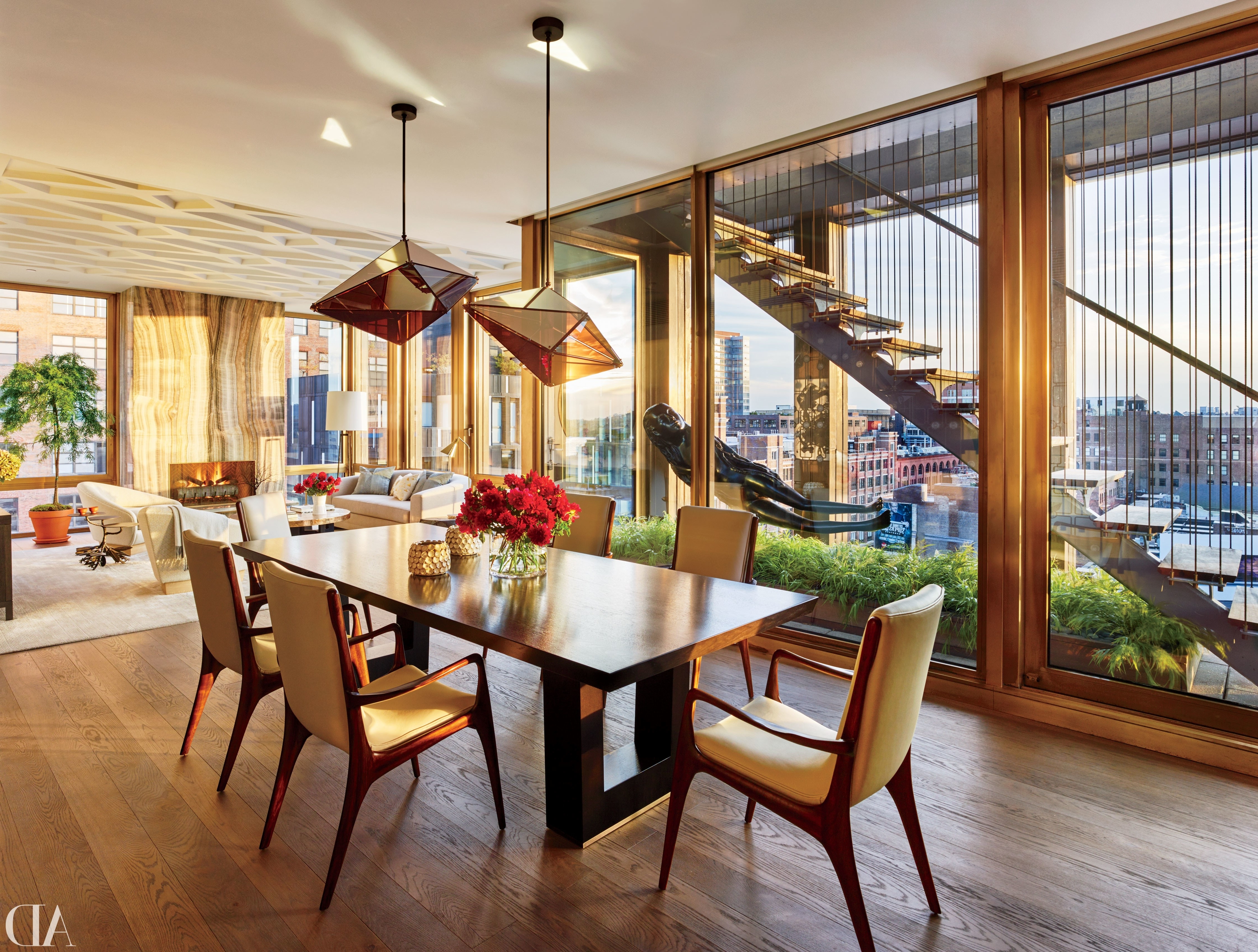 New York Dining Tables In Well Known Dining Room Decor In New York City Photos (View 7 of 25)