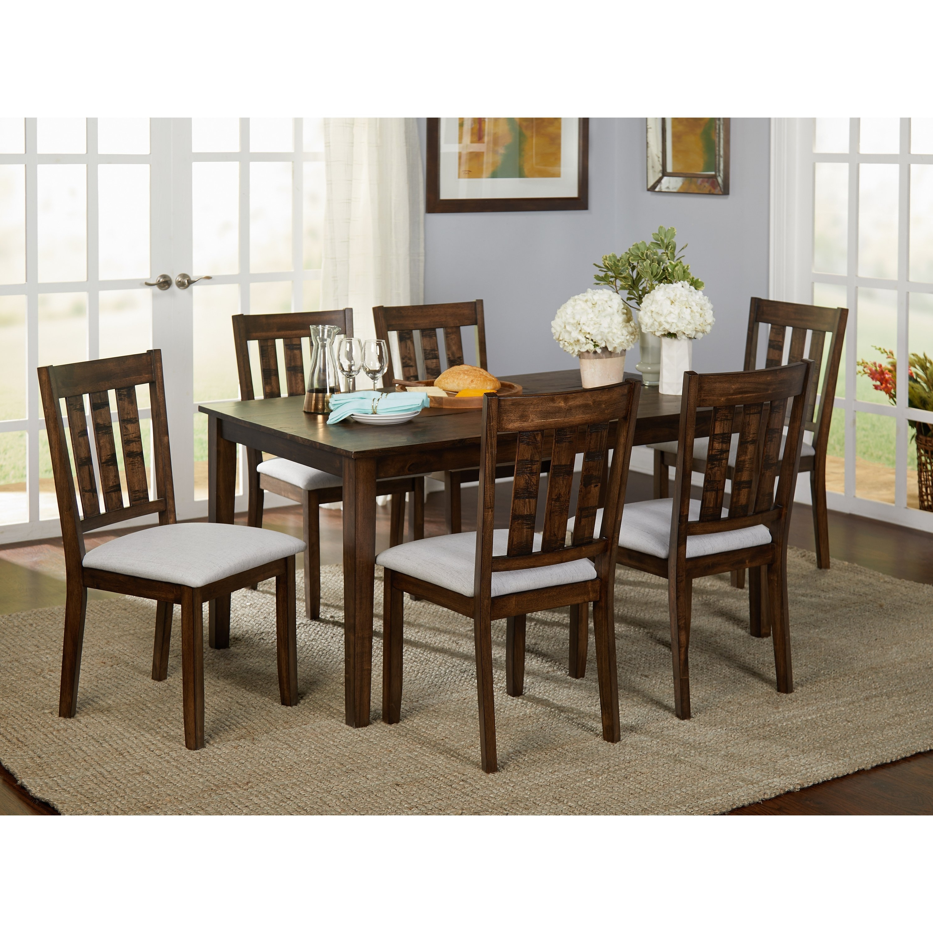 Newest 7 Gorgeous Cheap Dining Room Sets Under 200 Bucks Color In Jaxon Grey 7 Piece Rectangle Extension Dining Sets With Wood Chairs (Gallery 21 of 25)
