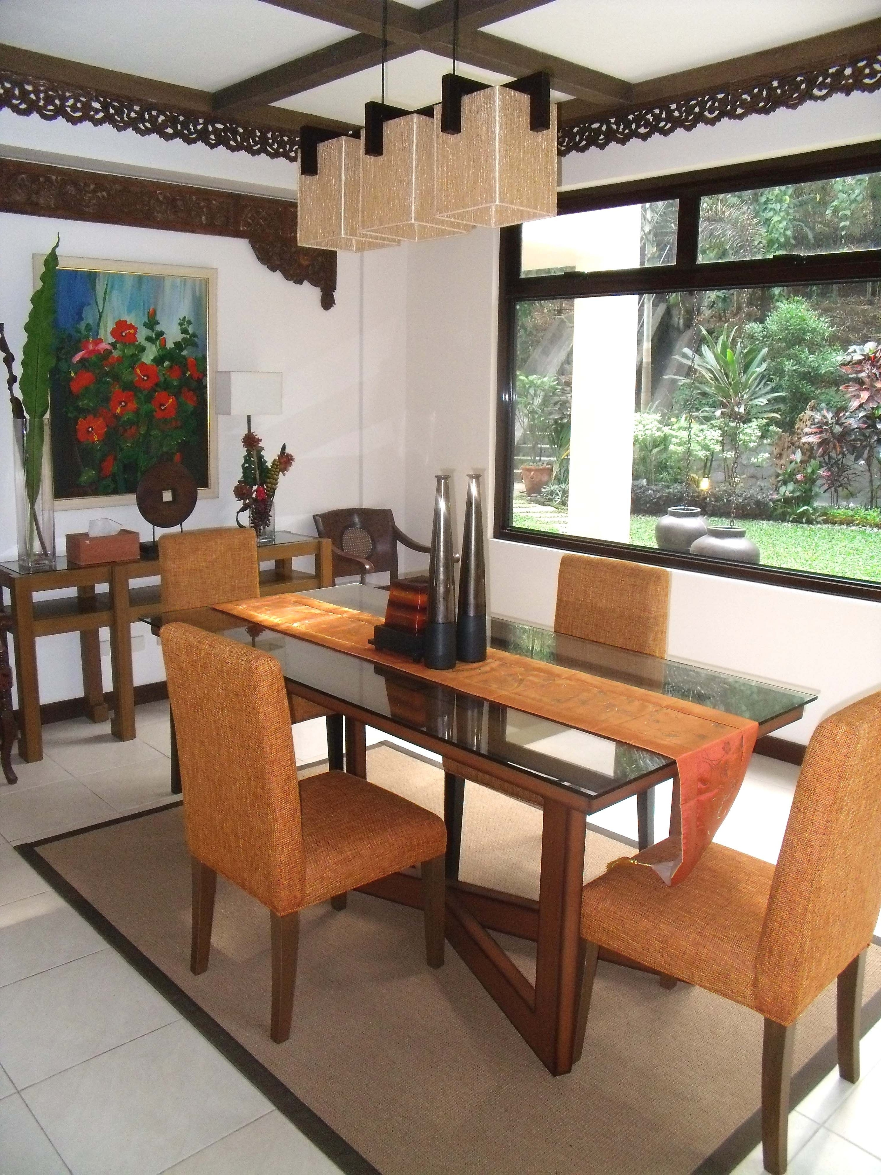 Newest Balinese Dining Tables Pertaining To Balinese Inspired Dining Roomrvr Interior Design (View 6 of 25)