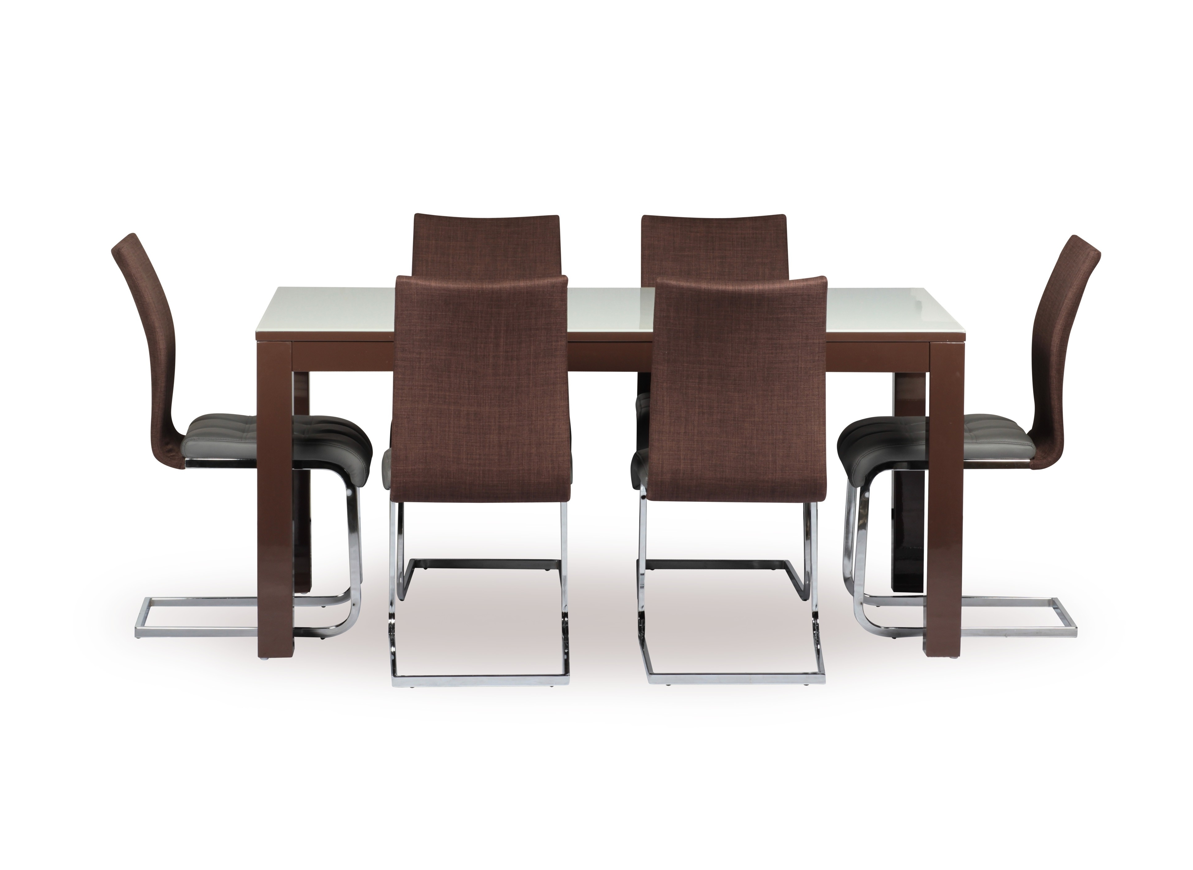 Newest Barcelona Dining Tables In Barcelona 7 Piece Dining Set (Gallery 5 of 25)