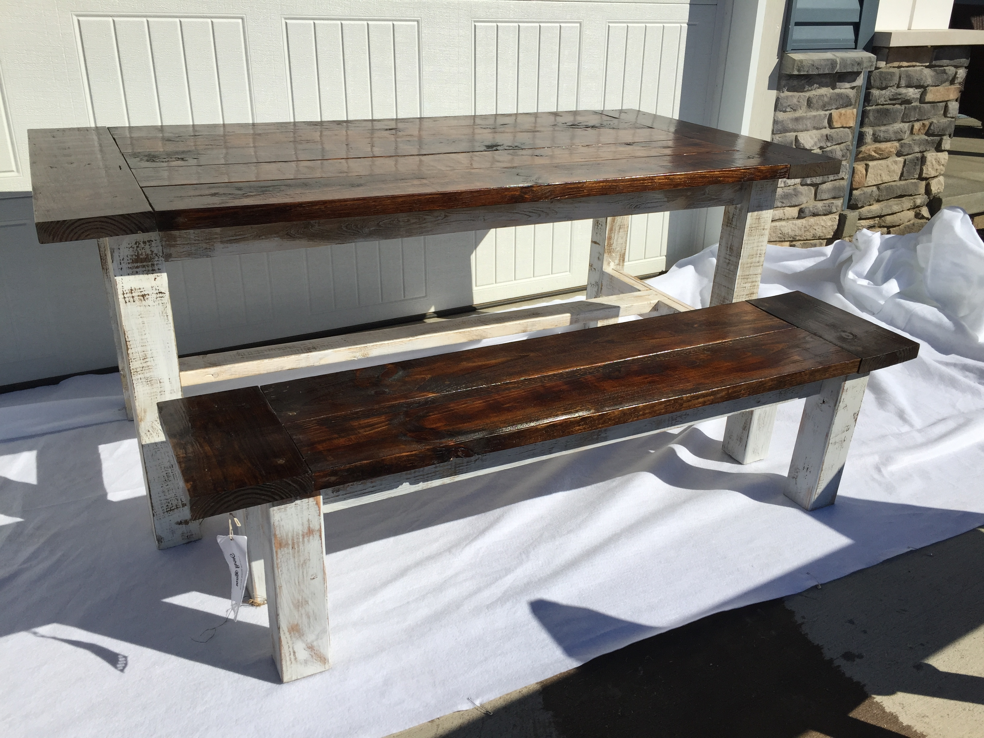 Newest Barn House Dining Tables Within Farmhouse Dining Table: (View 16 of 25)