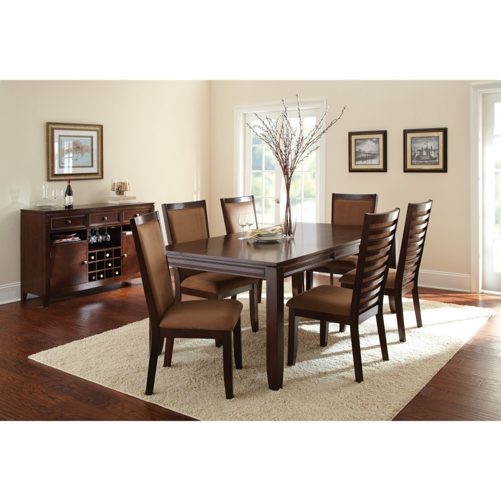 Newest Buy Steve Silver Carrolton 9 Piece Dining Table Set With Optional Intended For Candice Ii 7 Piece Extension Rectangular Dining Sets With Slat Back Side Chairs (View 18 of 25)