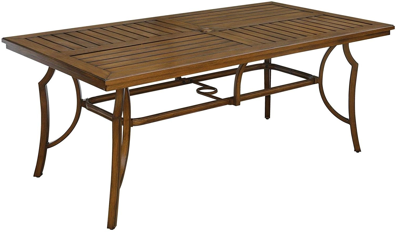 Newest Carly Rectangle Dining Tables With Regard To Amazon – Furniture Of America Cm Ot2126 T Desiree Patio (View 20 of 25)