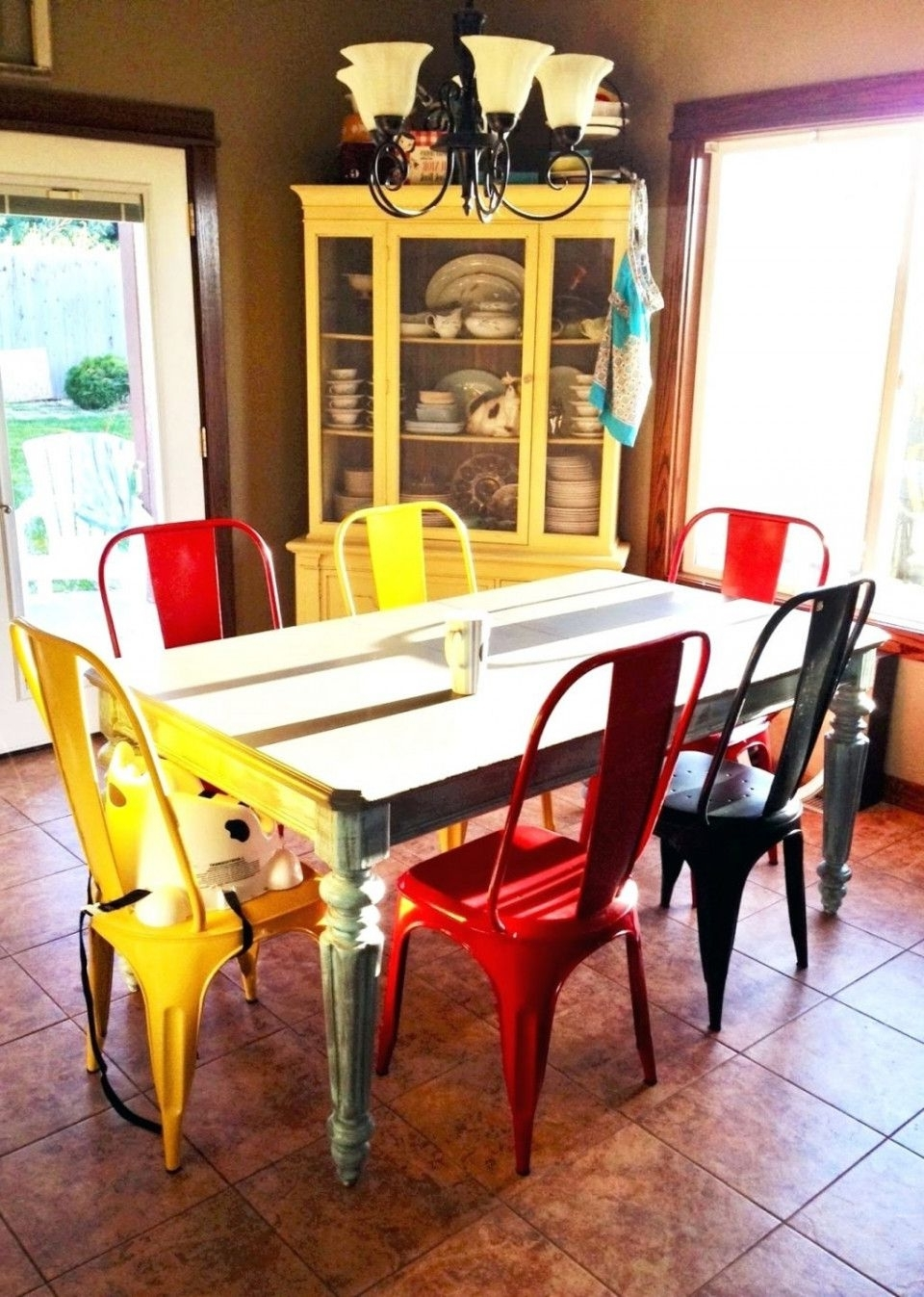 Newest Colourful Dining Tables And Chairs With 99+ Multi Coloured Dining Chairs – Modern Style Furniture Check More (Gallery 25 of 25)