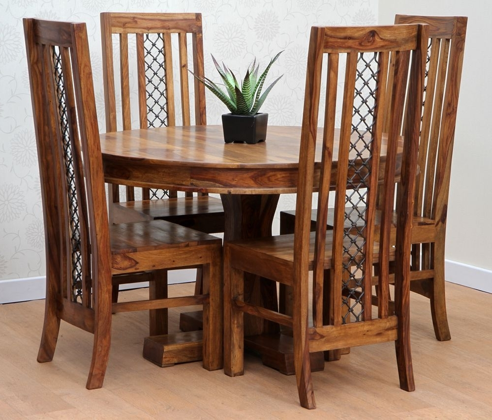 Newest Dining Set « Bhavya Art And Crafts With Sheesham Dining Chairs (View 25 of 25)