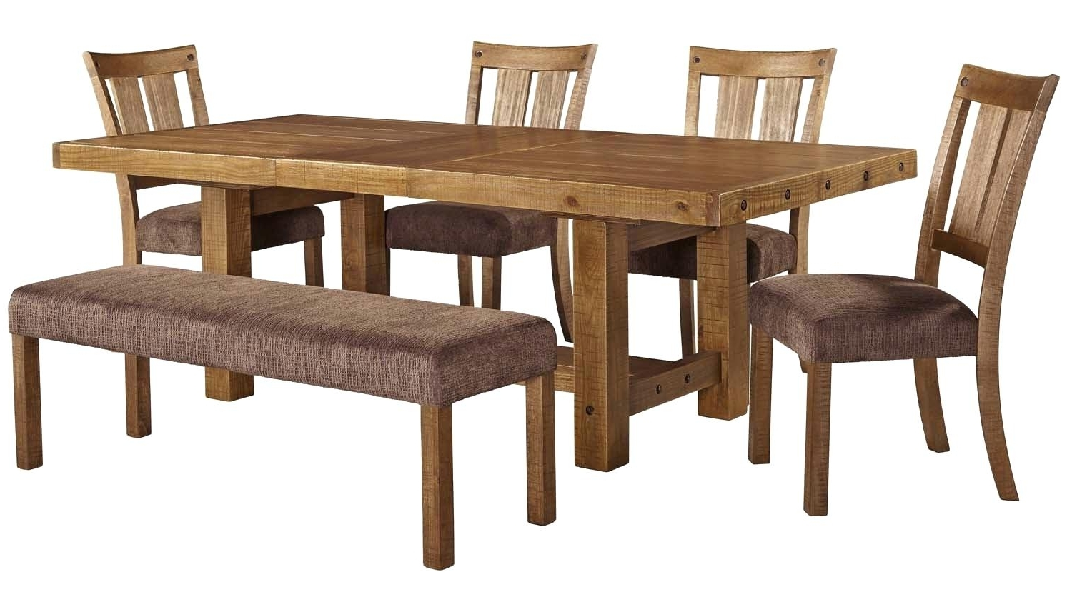 Newest Dining Table 6 Piece Set Dining Tables Sets Dining Table Set 6 within Mallard 6 Piece Extension Dining Sets