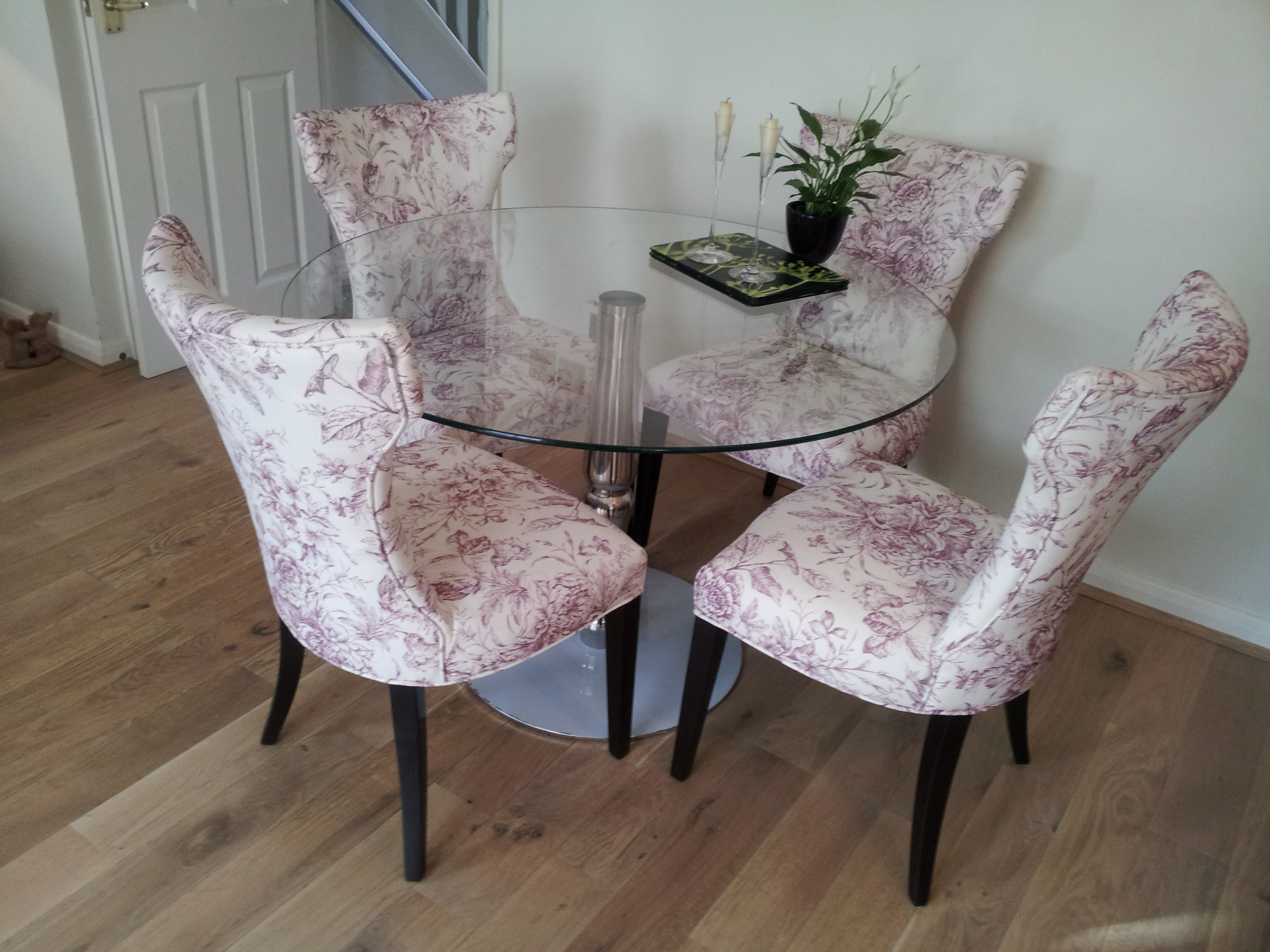 Newest Dining Tables And Purple Chairs Inside The Colour Purple – Smartspace Interiors (View 17 of 25)