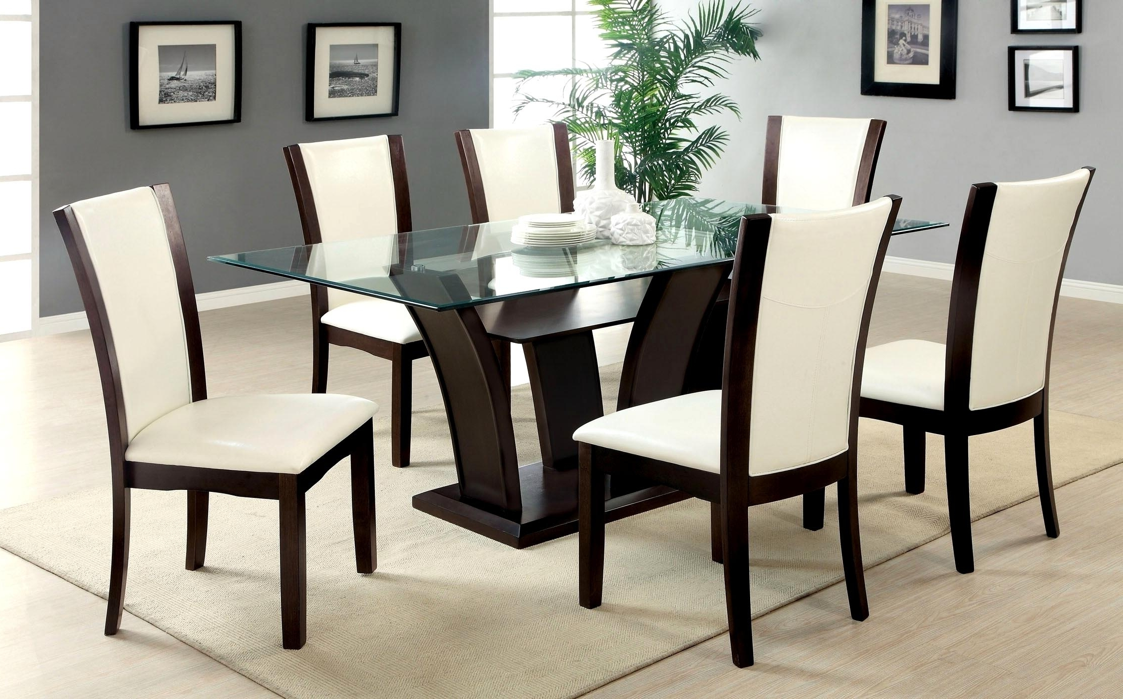 Featured Photo of Dining Tables For Six
