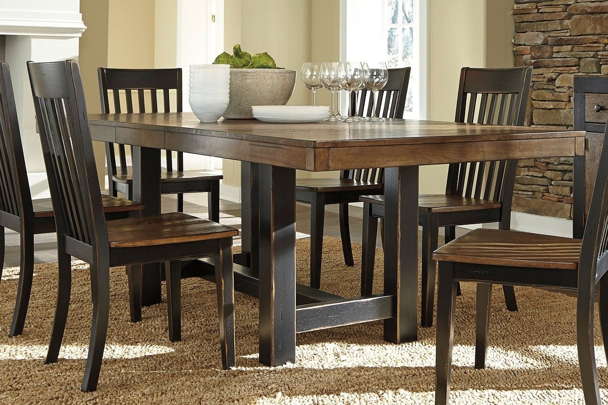 Newest Emerfield Dining Table Signature Design (Gallery 25 of 25)