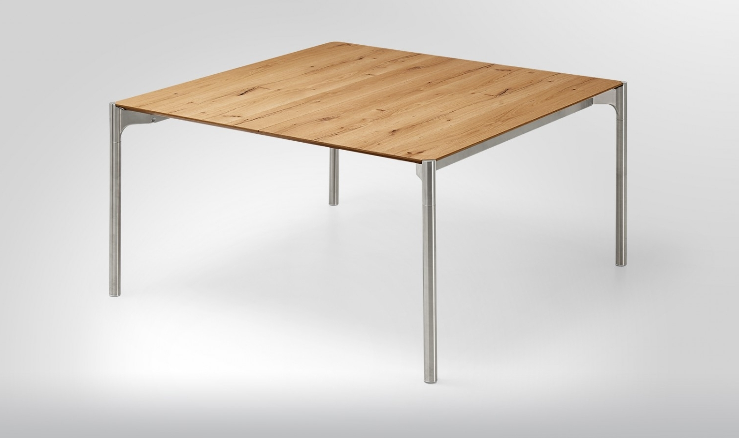 Newest Extendable Square Dining Tables Pertaining To Venjakob Et239 Mio Square Extendable Dining Table (View 16 of 25)