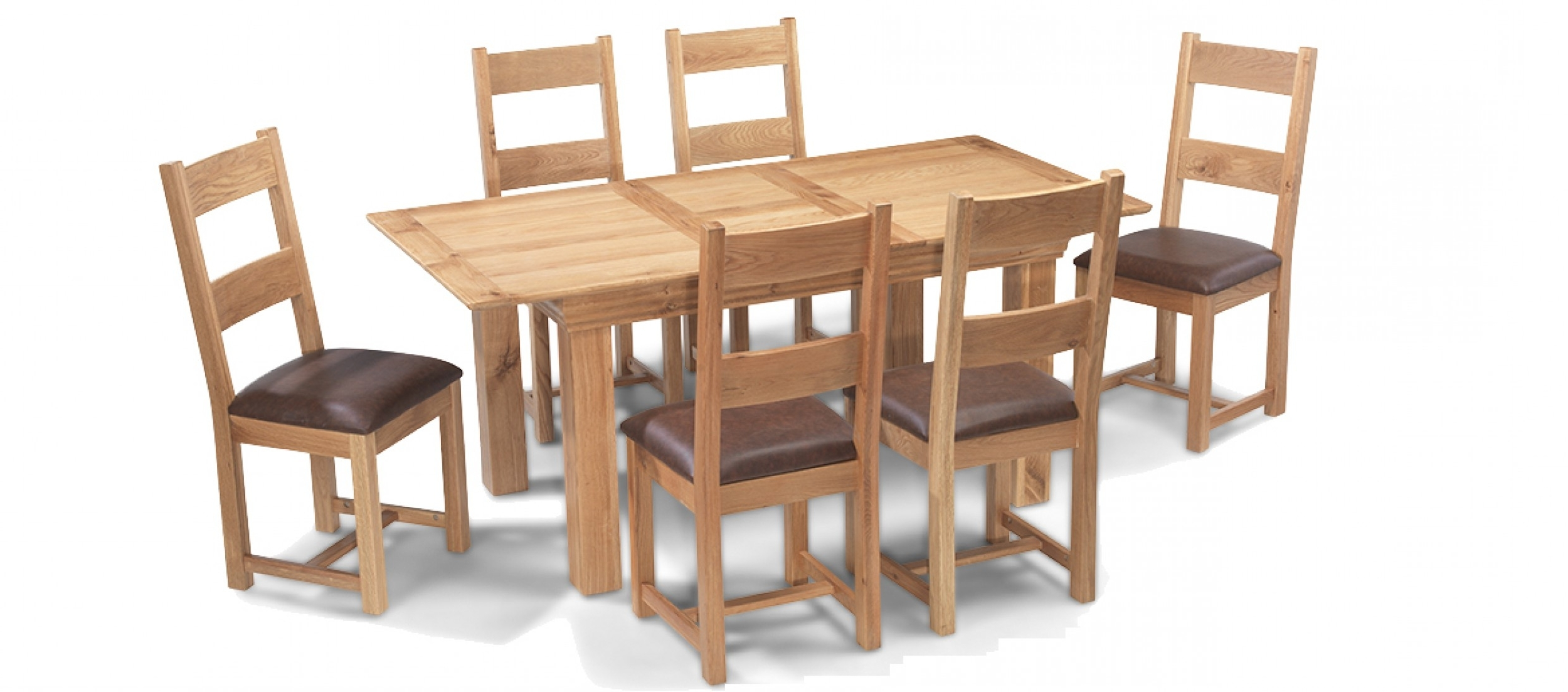 Newest Extending Dining Tables With 6 Chairs Inside Constance Oak 140 180 Cm Extending Dining Table And 6 Chairs (Gallery 13 of 25)