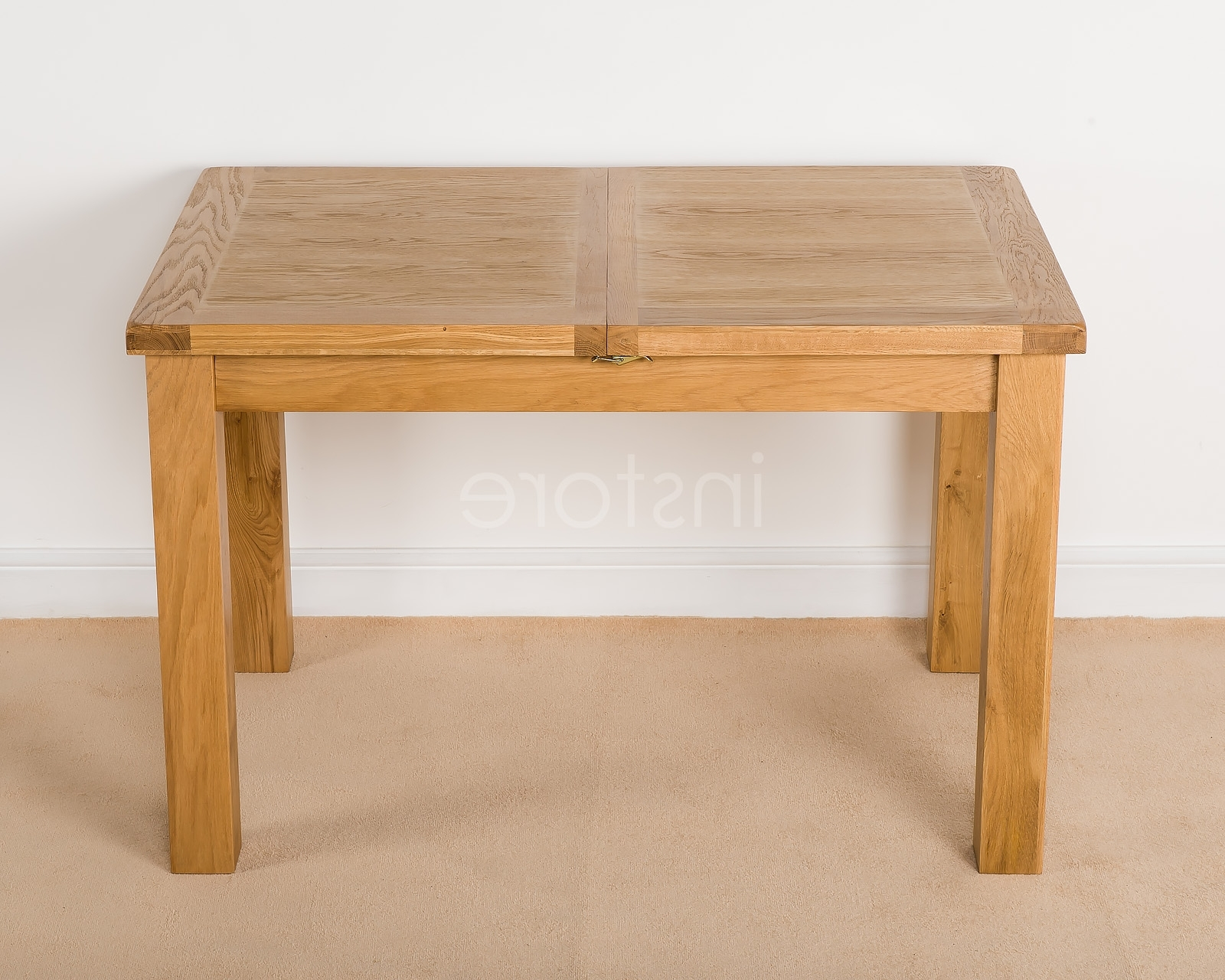 Newest Extending Rectangular Dining Tables For Loxley Oak Rectangle Extending Dining Table (View 18 of 25)