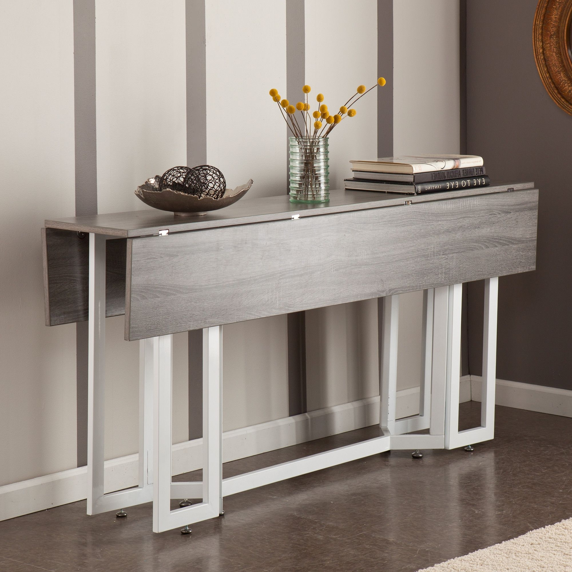 Newest Holly & Martin Driness Drop Leaf Dining / Console Table & Reviews Intended For Cheap Drop Leaf Dining Tables (View 9 of 25)