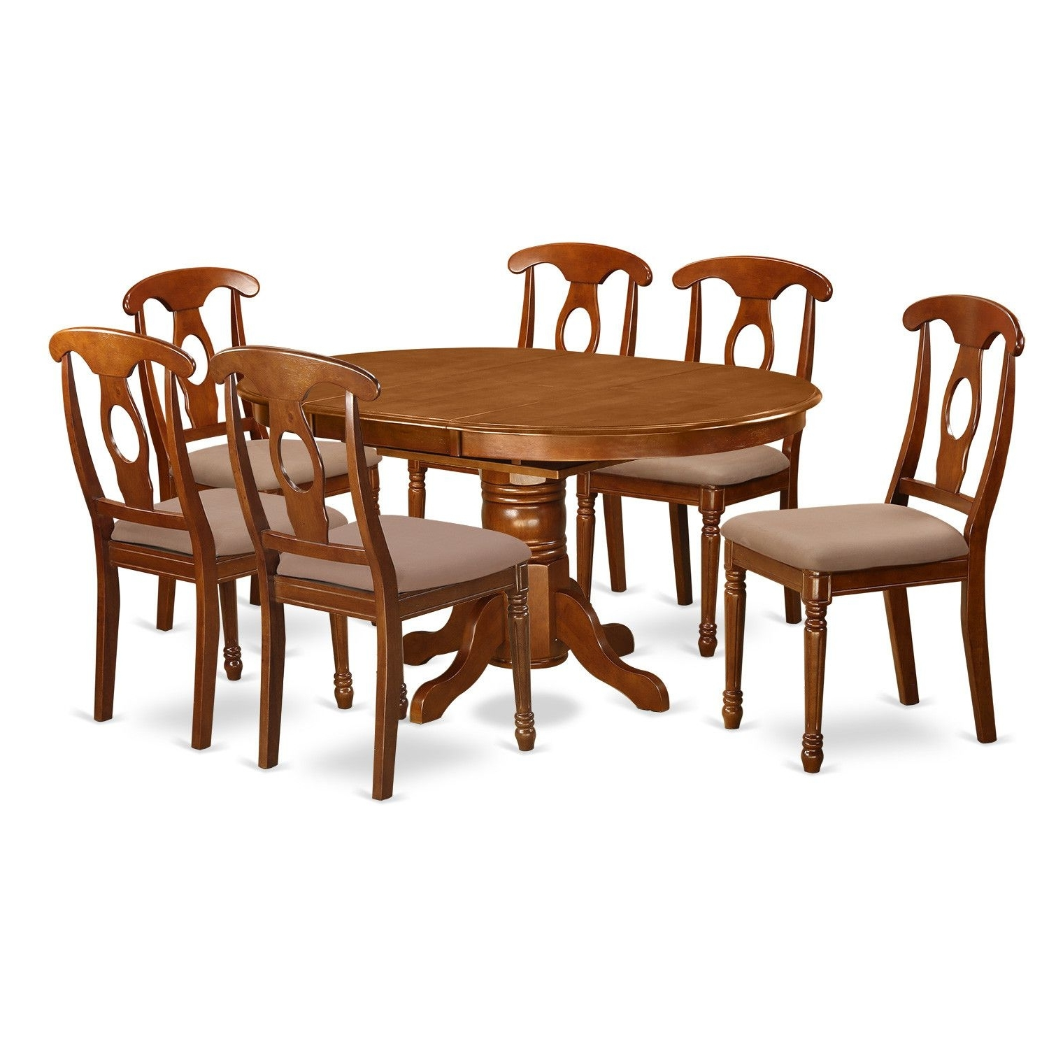Newest Logan 7 Piece Dining Sets For Logan 7 Piece Dining Set (View 17 of 25)