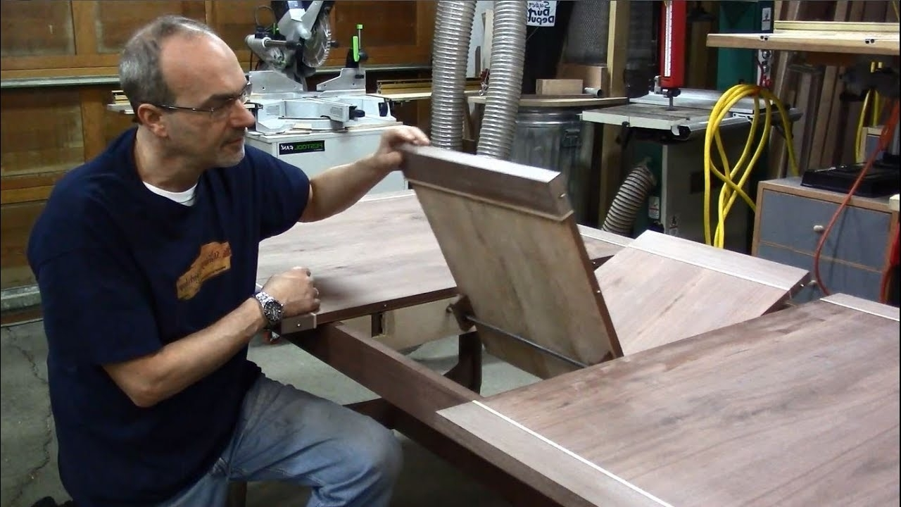 Newest Mallard Extension Dining Tables For Butterfly Leaf Dining Table 9 – Designing And Installing The Butterfly Leaf (View 19 of 25)