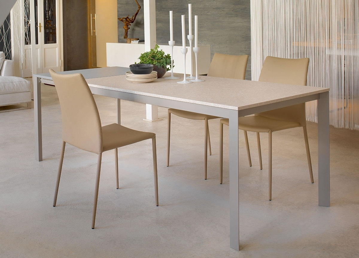 Newest Paris Dining Tables Regarding Bontempi Paris Extending Dining Table (Gallery 6 of 25)