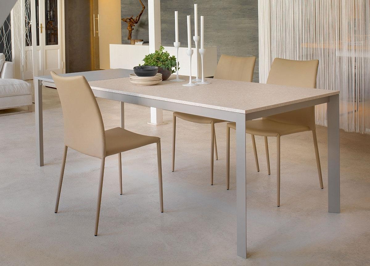 Newest Paris Dining Tables Regarding Bontempi Paris Extending Dining Table (View 14 of 25)