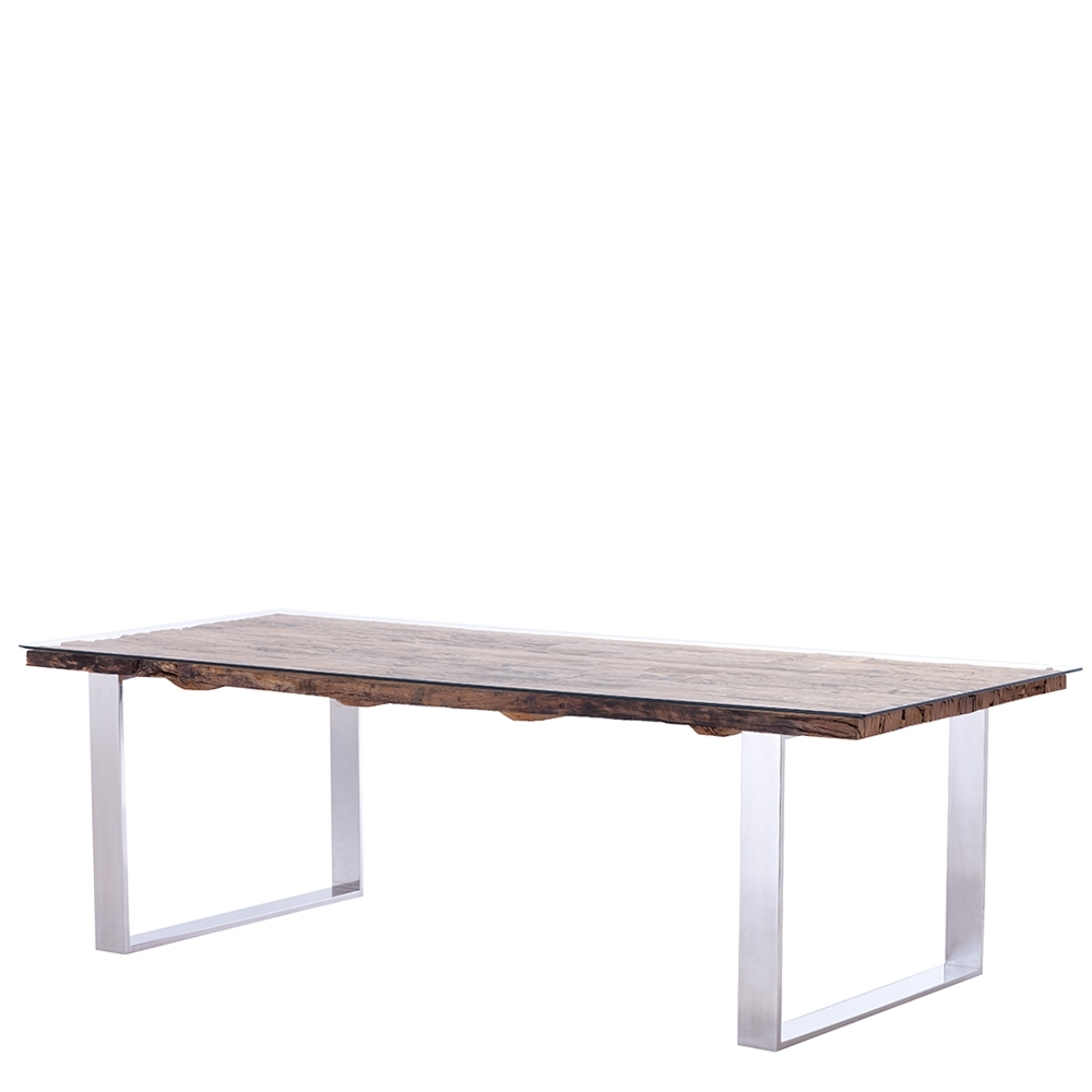 Newest Railway Dining Tables Inside Caspian Atlantic Dining Table (Gallery 16 of 25)