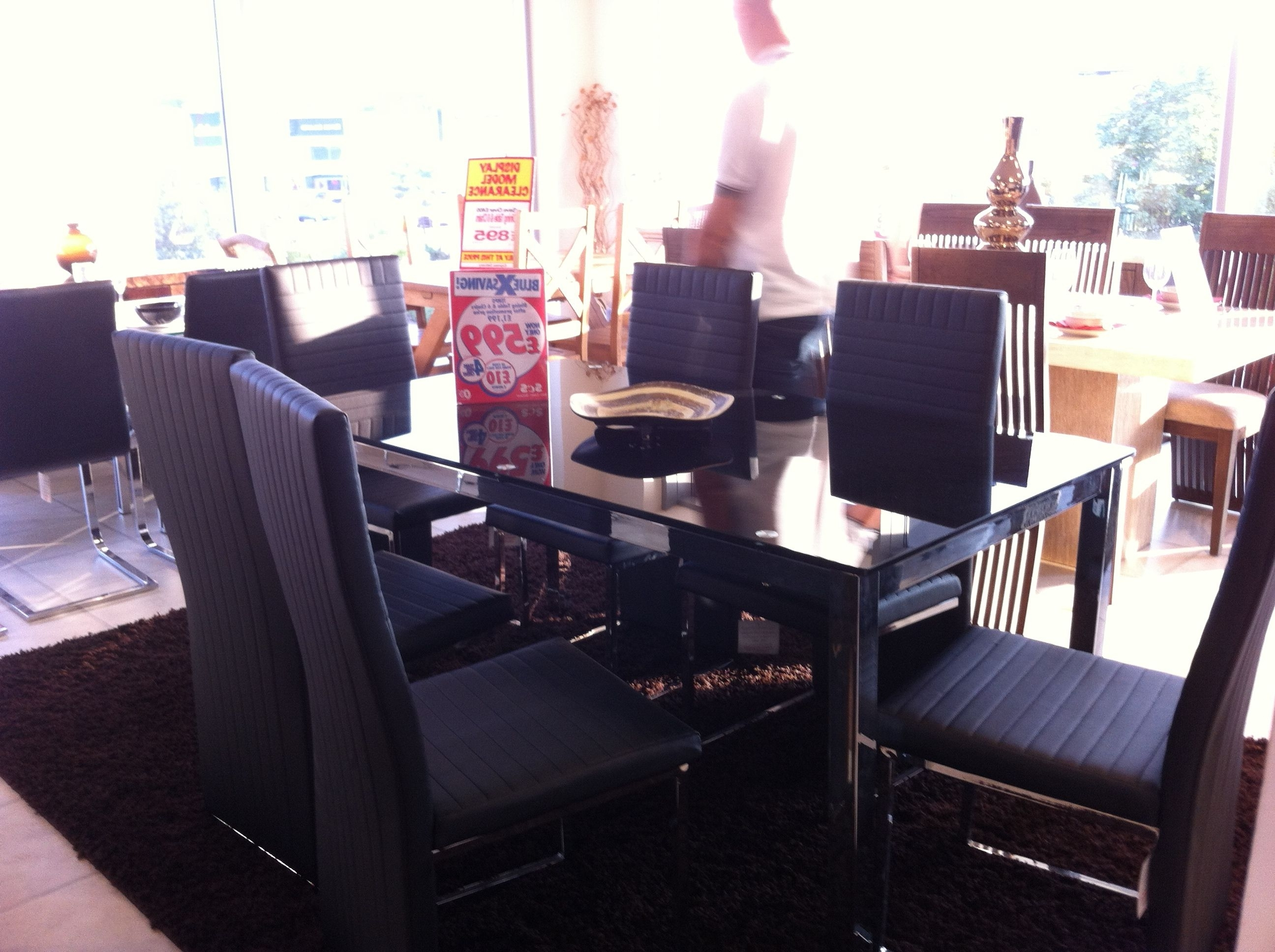 Newest Scs Dining Table + 6 Chairs £ (View 5 of 25)