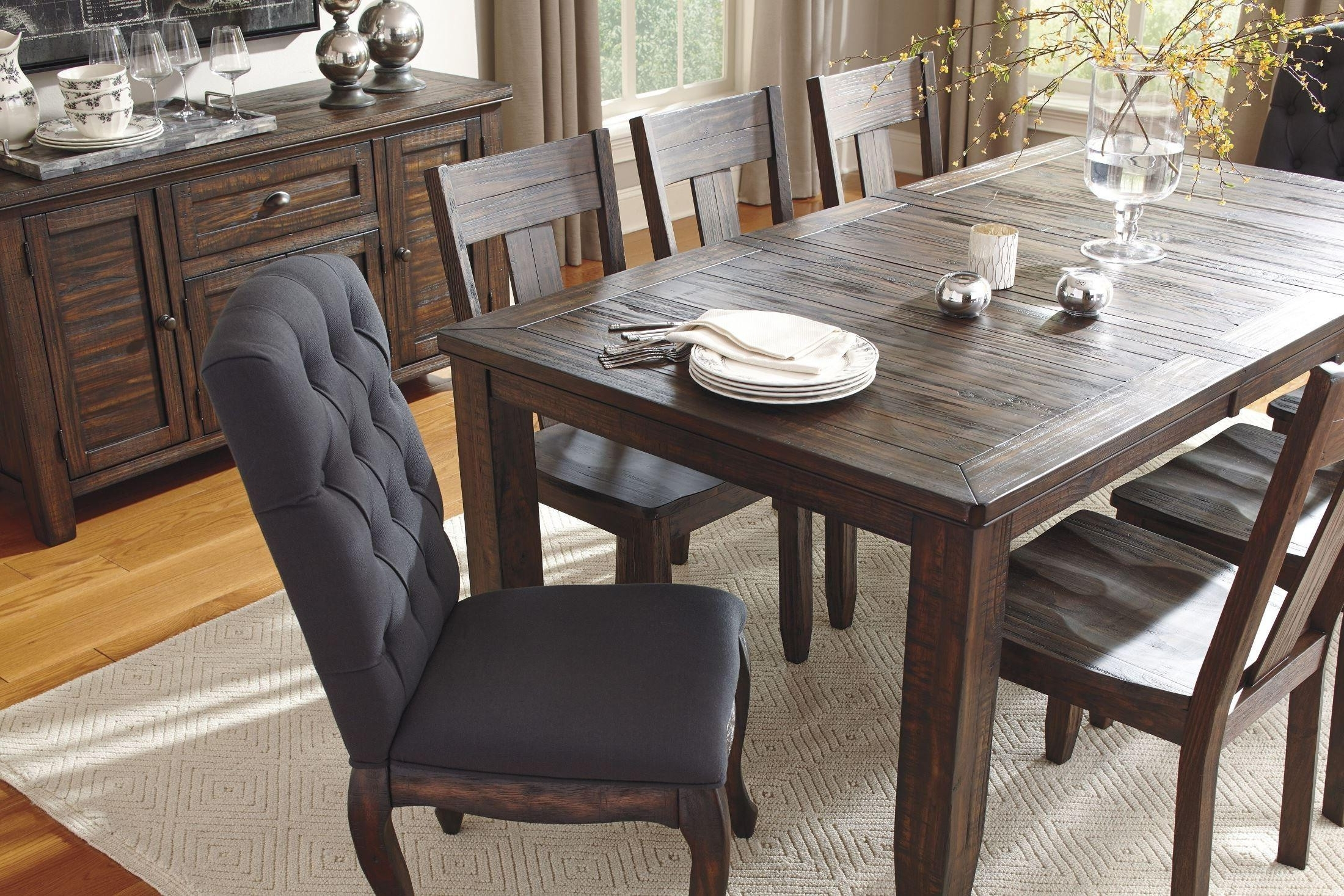 Newest Solid Dark Wood Dining Tables with Dark Wood Dining Room Table And Chairs New Wood Pedestal Base For