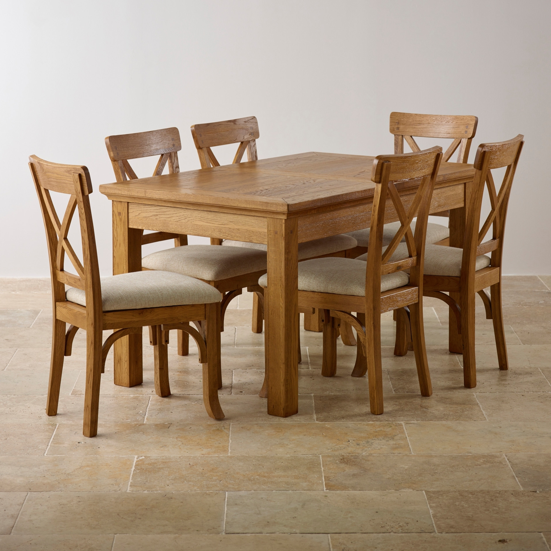 Newest Solid Oak Dining Tables Within How To Get The Oak Dining Sets? – Pickndecor (View 8 of 25)