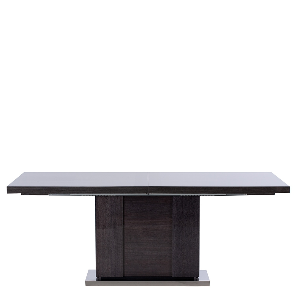 Newest The Borgia Large Extending Dining Table: Dining Room Table regarding Black Extending Dining Tables