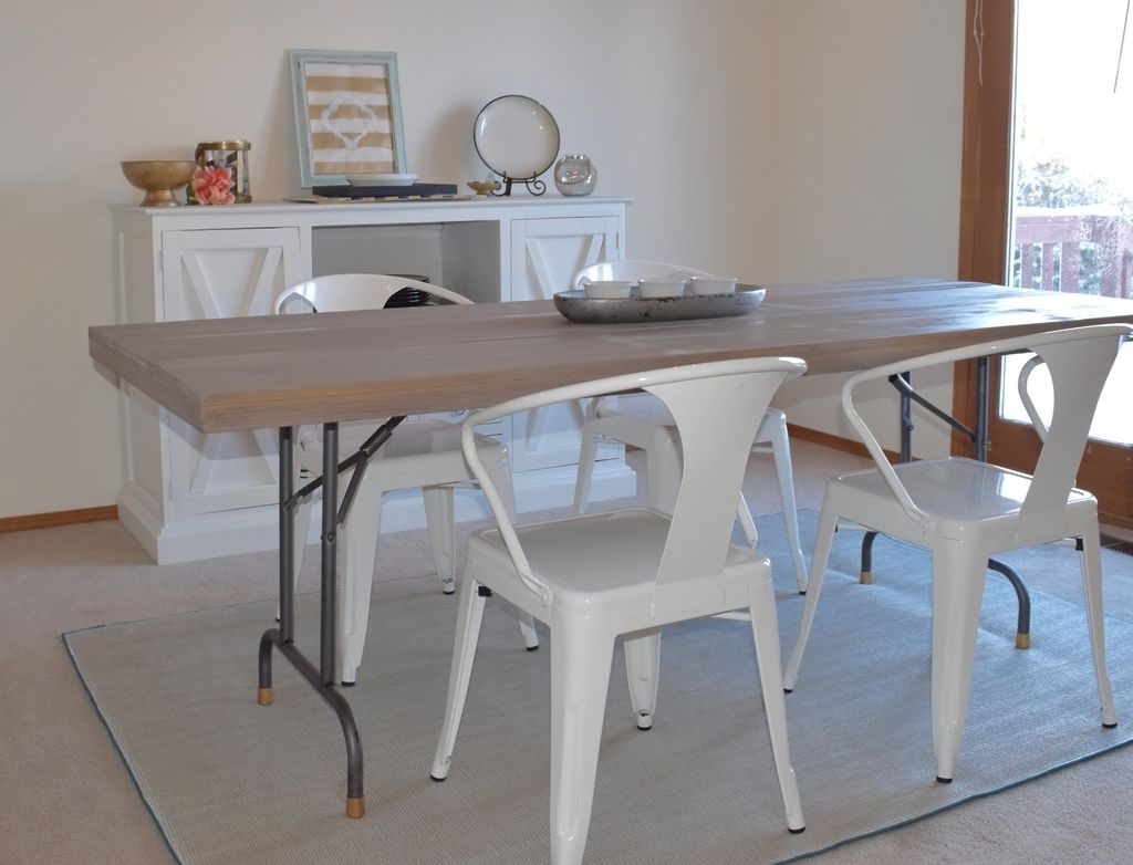 Newest Turn A Folding Table Into A Dining Table: 7 Steps (With Pictures) Pertaining To Large Folding Dining Tables (View 16 of 25)