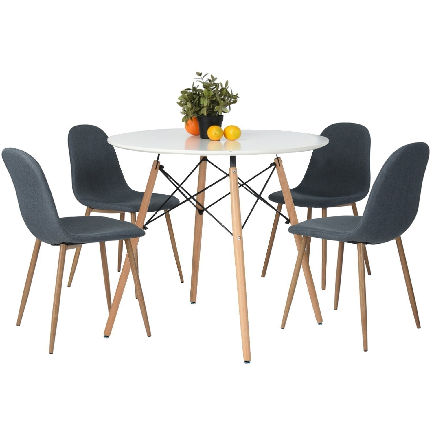 Newest Vogue Dining Tables Regarding Eames Kitchen Dining Table Vogue Carpenter Round Coffee Tea Table (View 10 of 25)
