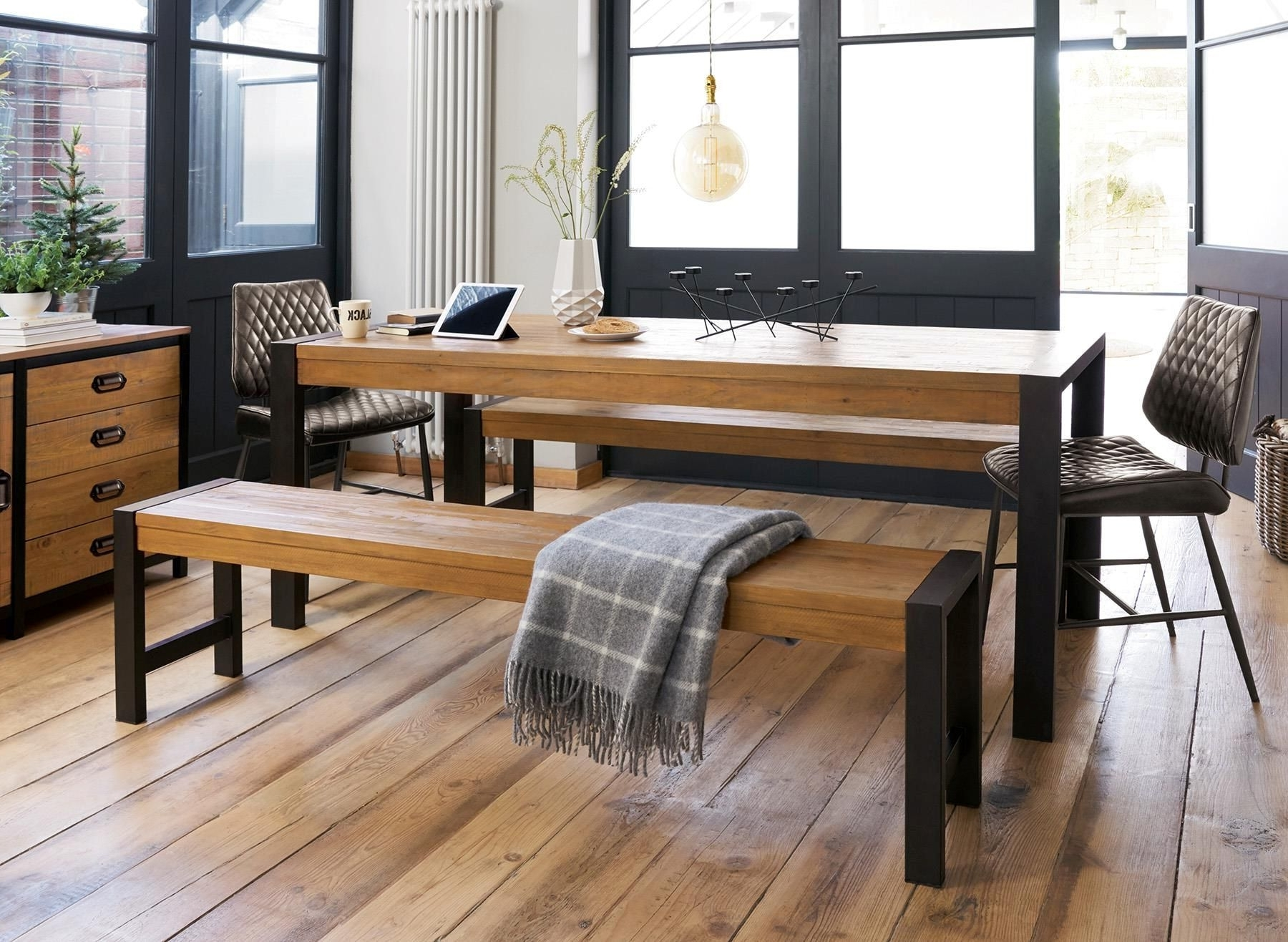 Next Hudson Dining Tables For Widely Used Buy Hudson Large Dining Table And Bench Set From The Next Uk Online (Gallery 2 of 25)