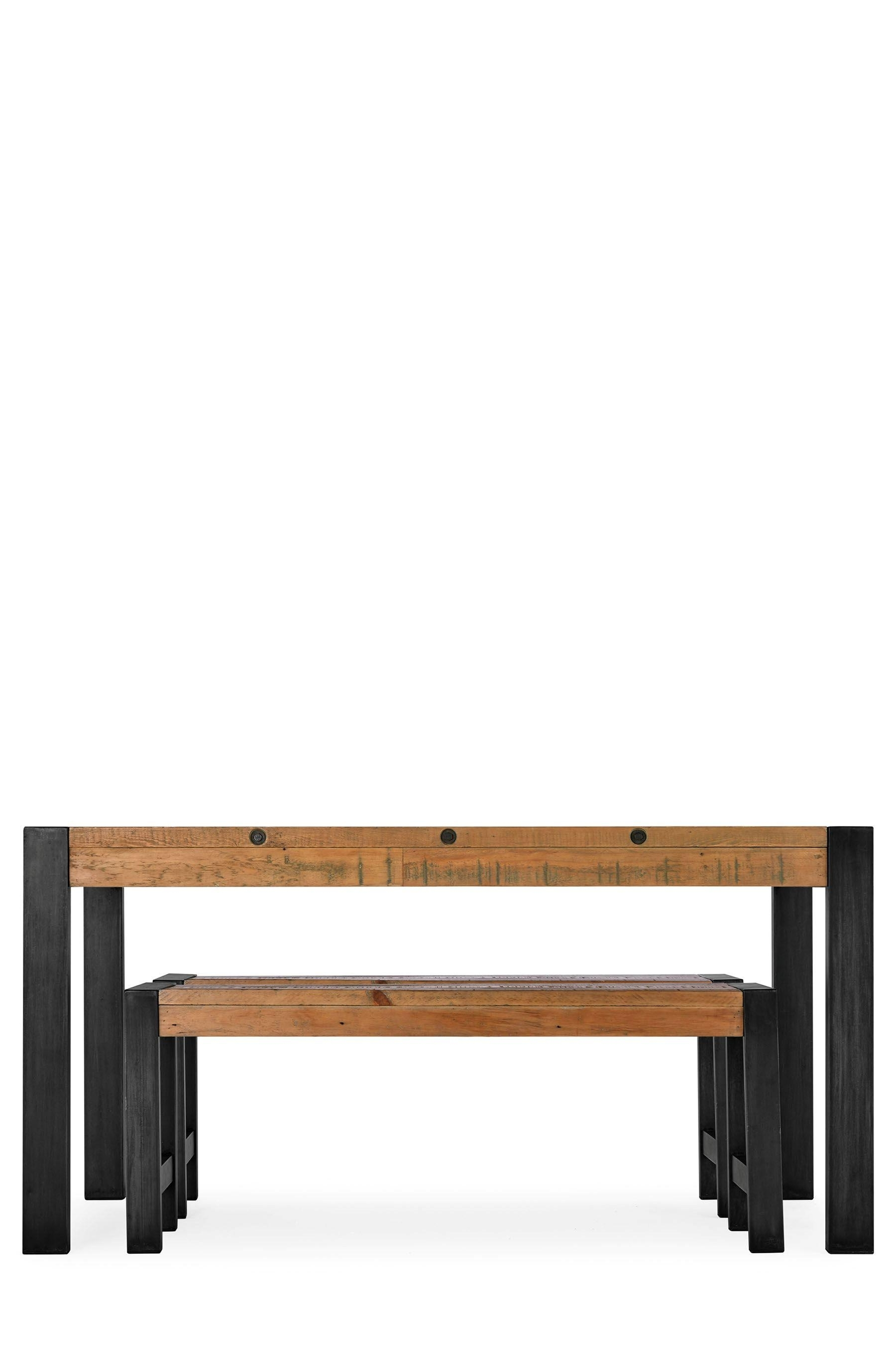 Next Hudson Dining Tables Pertaining To Famous Hudson Dining Table And Bench Set Reviews (View 10 of 25)