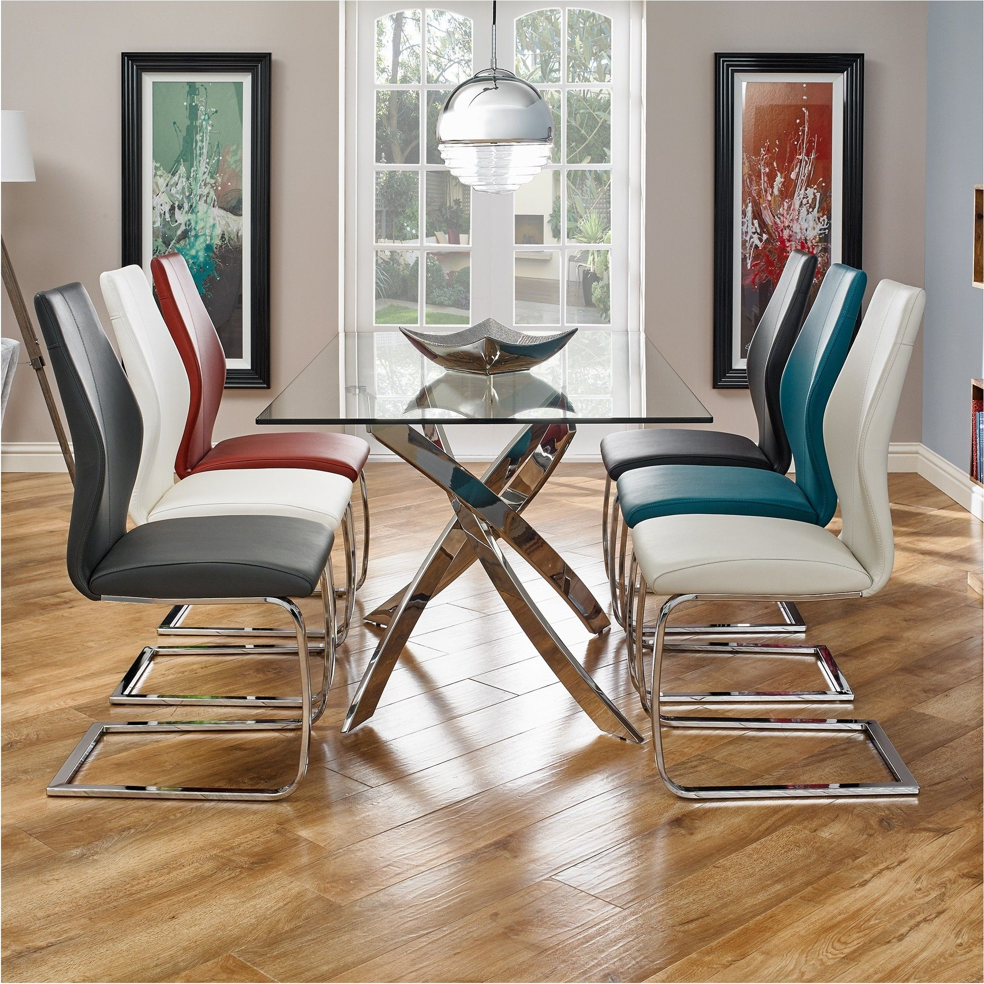 Nice Anguilla Dining Table And 6 Chairs Dining Sets Furniture regarding Most Recently Released Chunky Solid Oak Dining Tables And 6 Chairs
