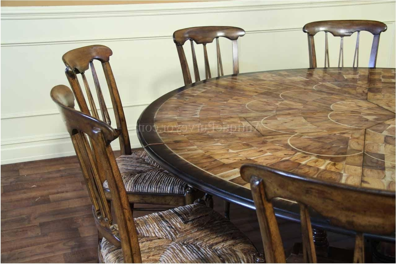 Nice Dining Tables Amusing Large Round Dining Table Large Round Regarding Favorite Huge Round Dining Tables (Gallery 24 of 25)