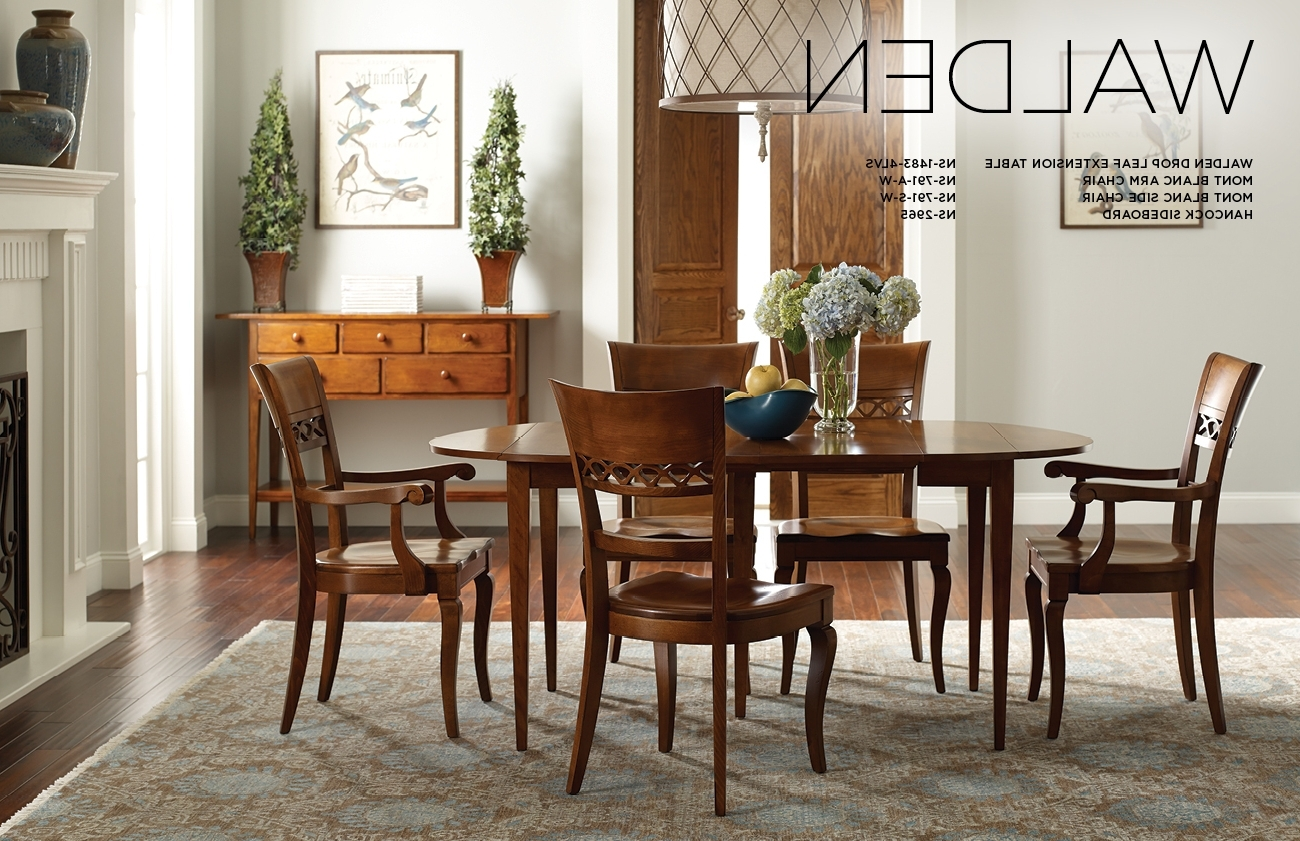 Nichols & Stone Inside Most Up To Date Walden Extension Dining Tables (View 14 of 25)