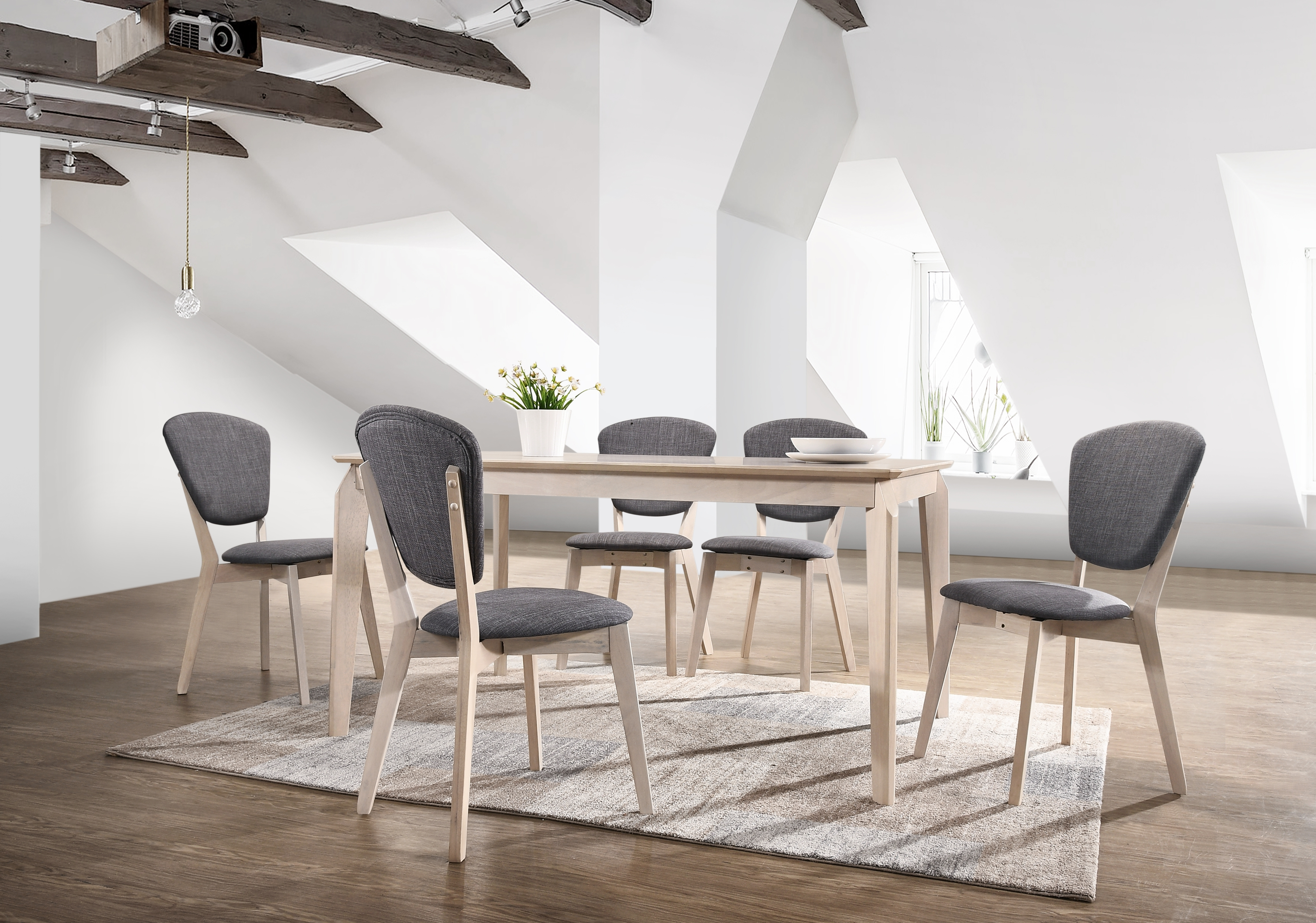 Noah Designer Dining Table In Solid Wood Scandinavian – White Oak Within Most Up To Date Noah Dining Tables (View 16 of 25)