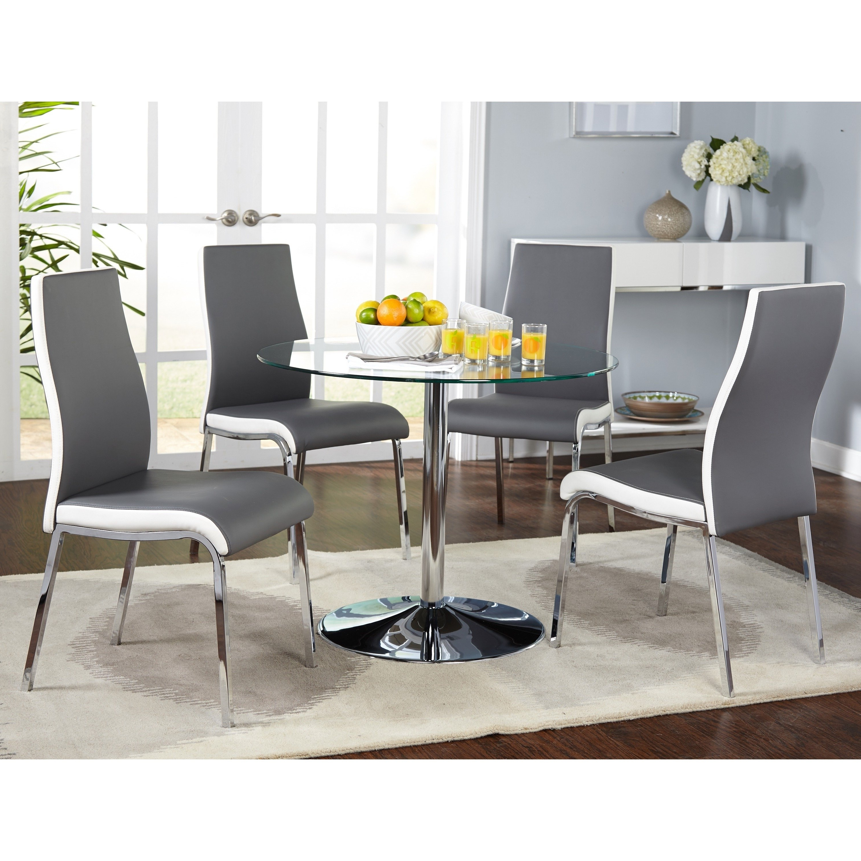 Nora Dining Tables For Favorite Shop Simple Living Nora Modern Dining Room Set – Free Shipping Today (Gallery 14 of 25)