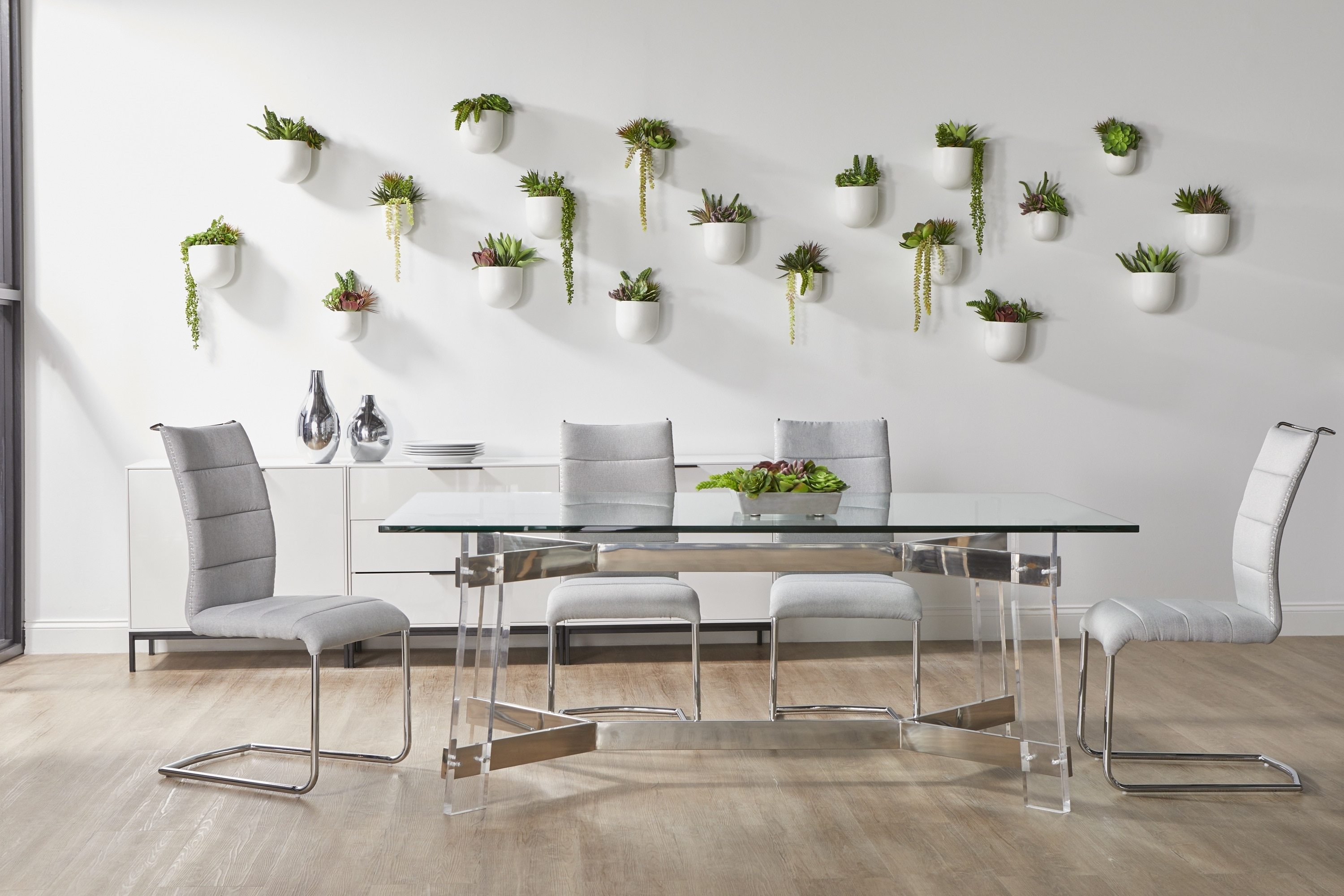 Nora Dining Tables For Most Current Nora Rectangle Dining Table Base (View 4 of 25)