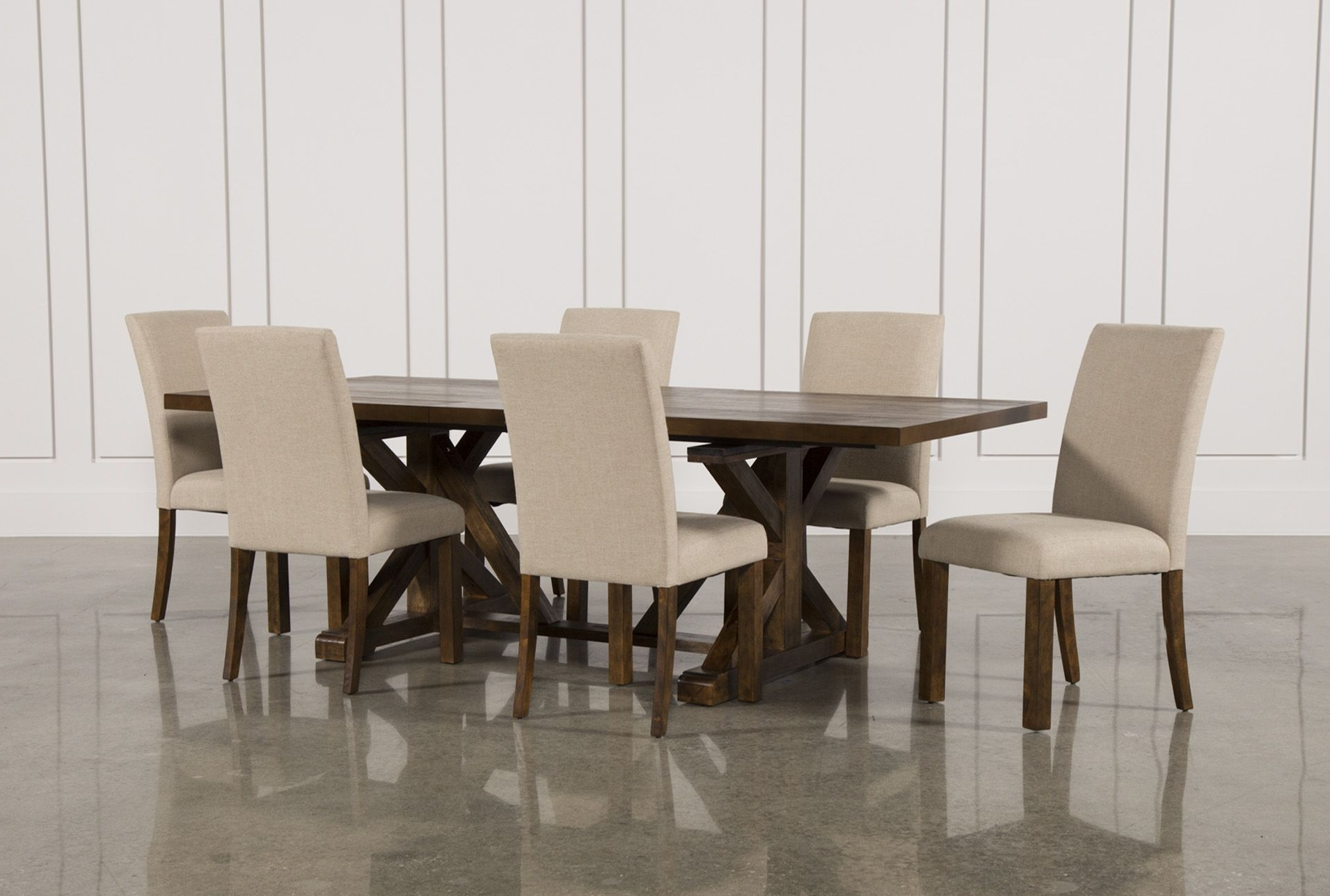 Norwood 7 Piece Rectangle Extension Dining Set (Gallery 19 of 25)