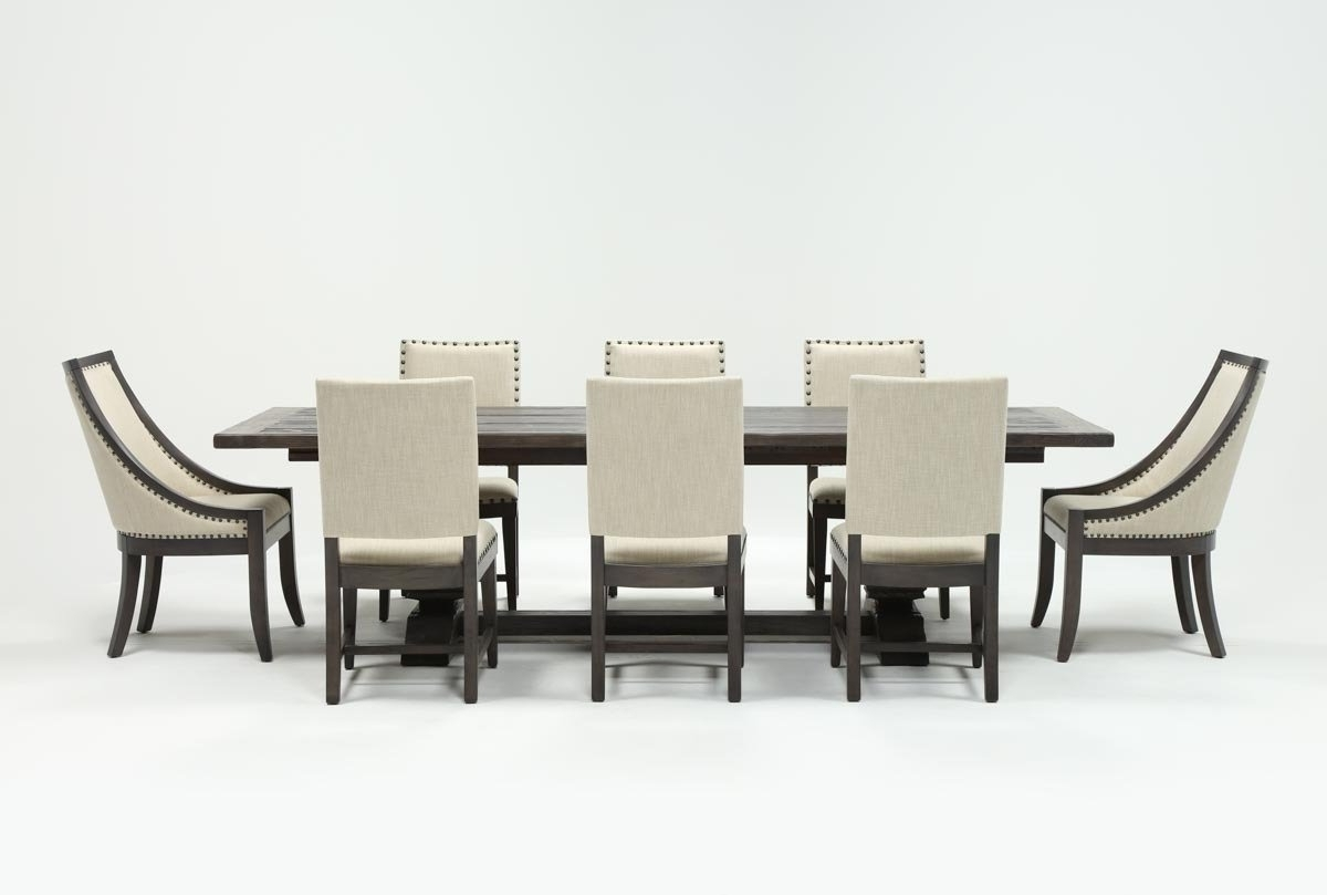 Norwood 9 Piece Rectangle Extension Dining Sets in Preferred Norwood 9 Piece Rectangle Extension Dining Set