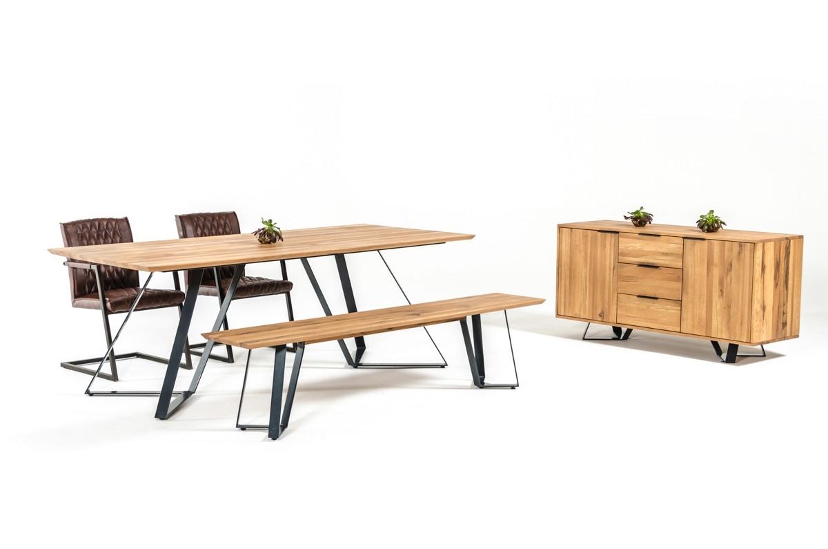 Nova Domus Pisa Modern Drift Oak Dining Table In Well Known Pisa Dining Tables (View 25 of 25)