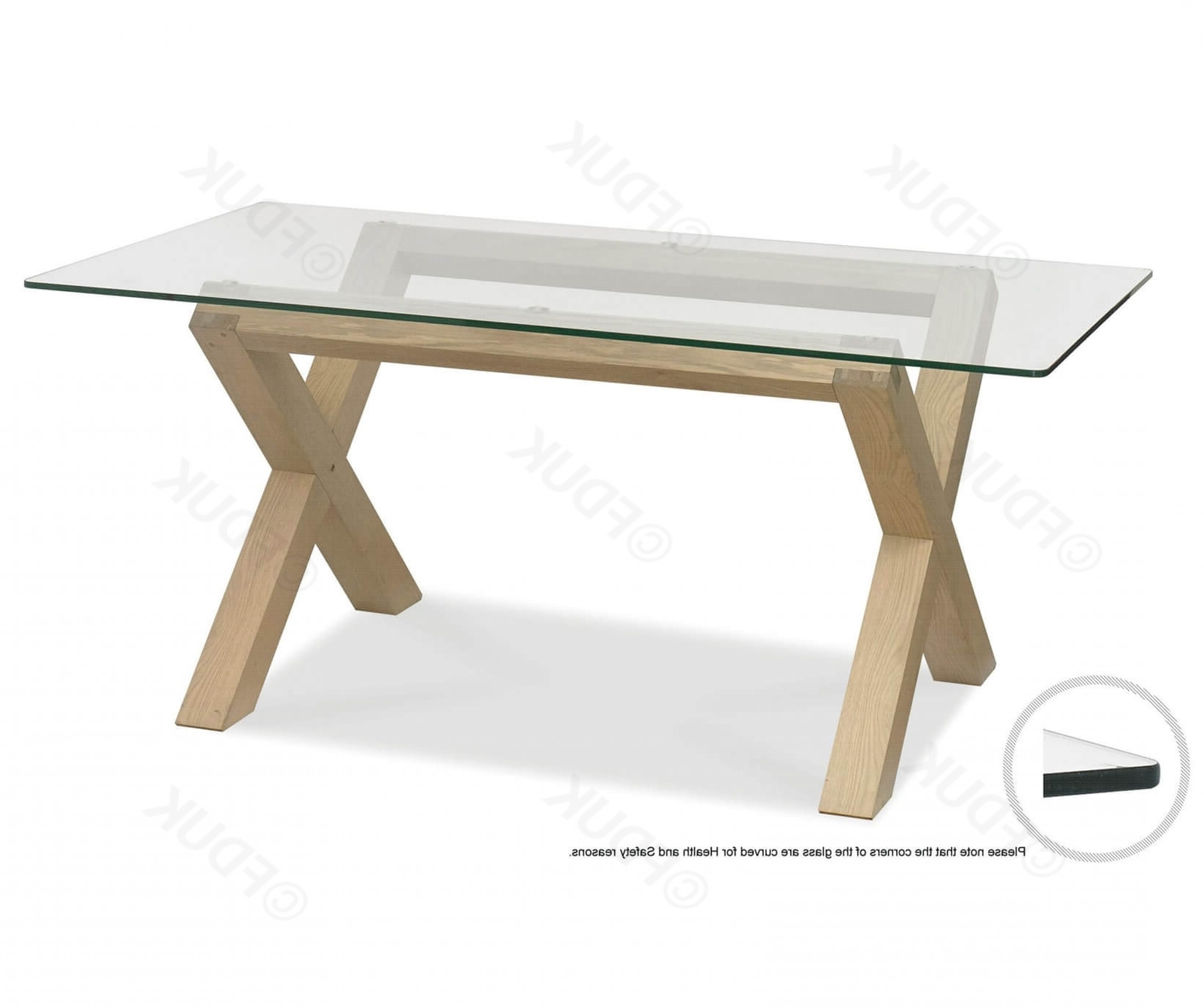 Oak And Glass Dining Tables For Most Recently Released Bentley Designs Turin (View 12 of 25)