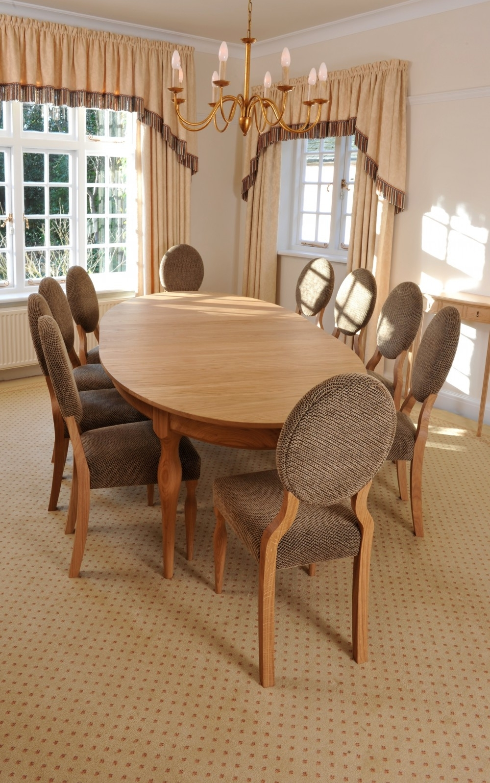 Oak Dining Suite In Widely Used Pristine Oak Dining Suite – Stewart Linford (View 16 of 25)