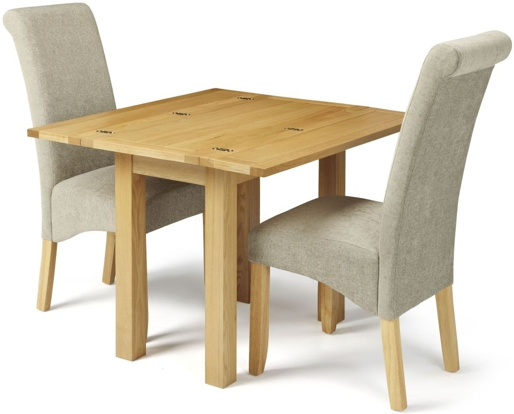 Oak Dining Suite Throughout Current Kirkwall American White Oak Extending Dining Table – Thanet Beds (View 18 of 25)