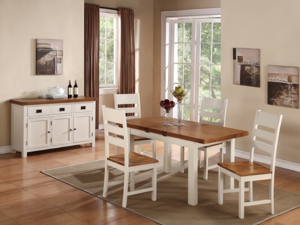 Oak Dining Suites Inside Well Known Oak Dining Tables And Chairs – Cooks Furnishings, Carpets And (View 8 of 25)