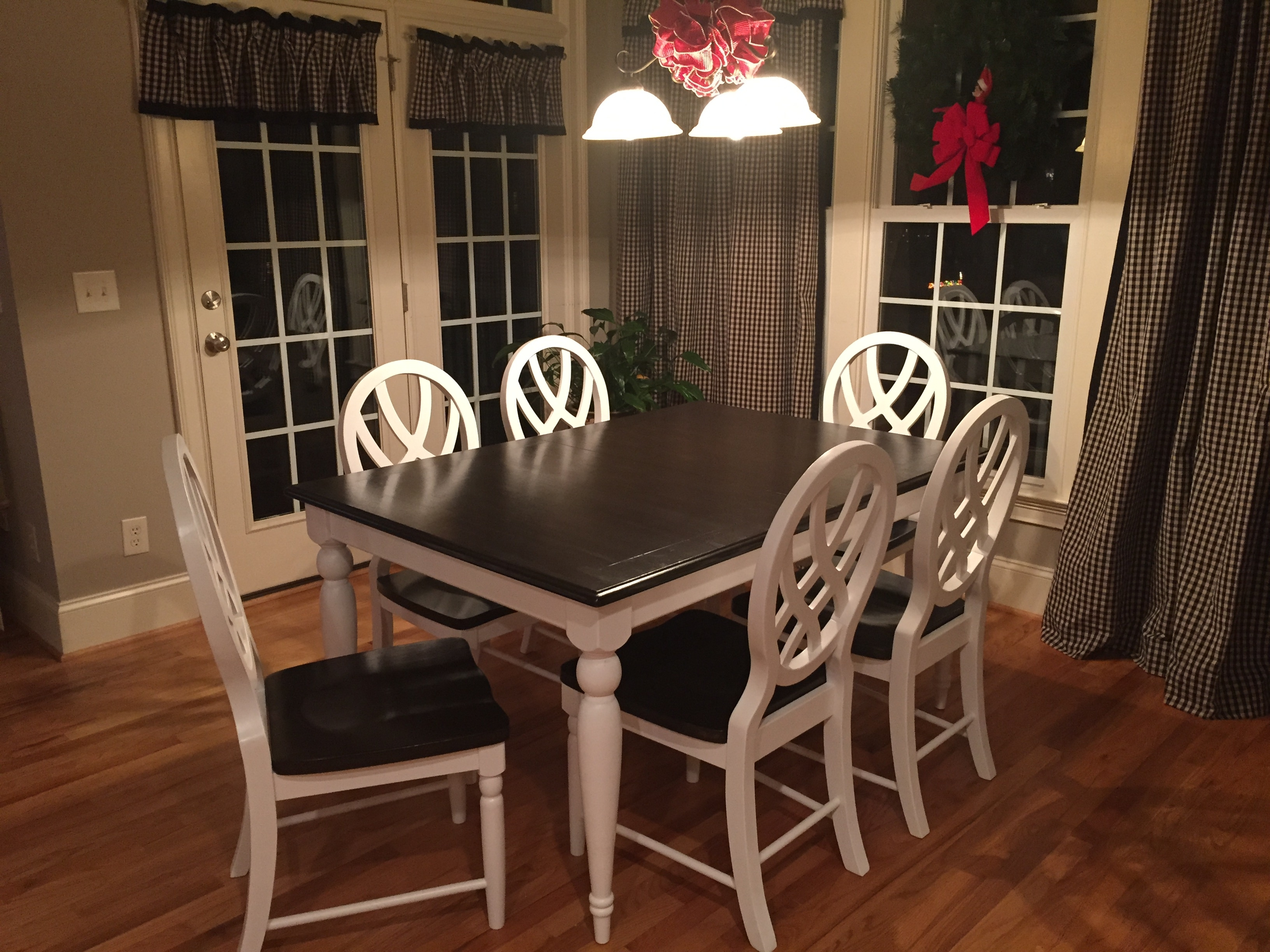 Oak Dining Table Set – Fresh Vintage Nc For Current Ivory Painted Dining Tables (View 16 of 25)