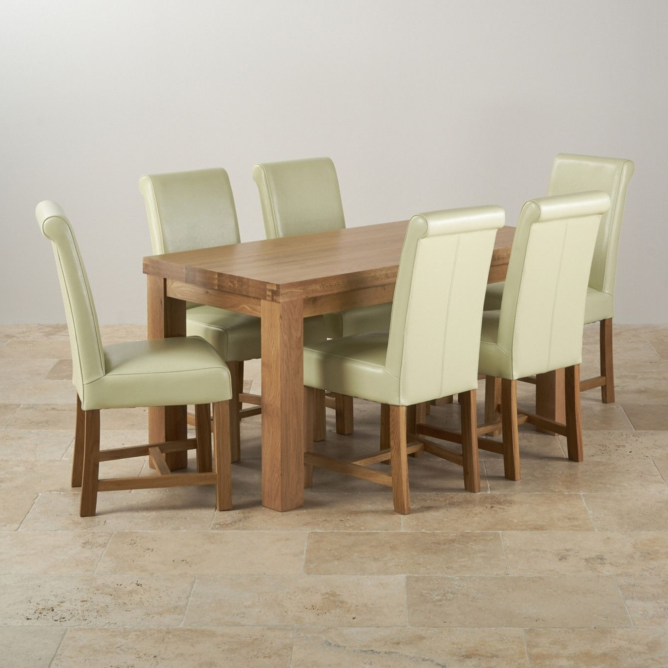 Oak Dining Tables And Chairs Regarding Favorite 50+ Solid Oak Dining Room Chairs – Modern Furniture Design Check (View 18 of 25)